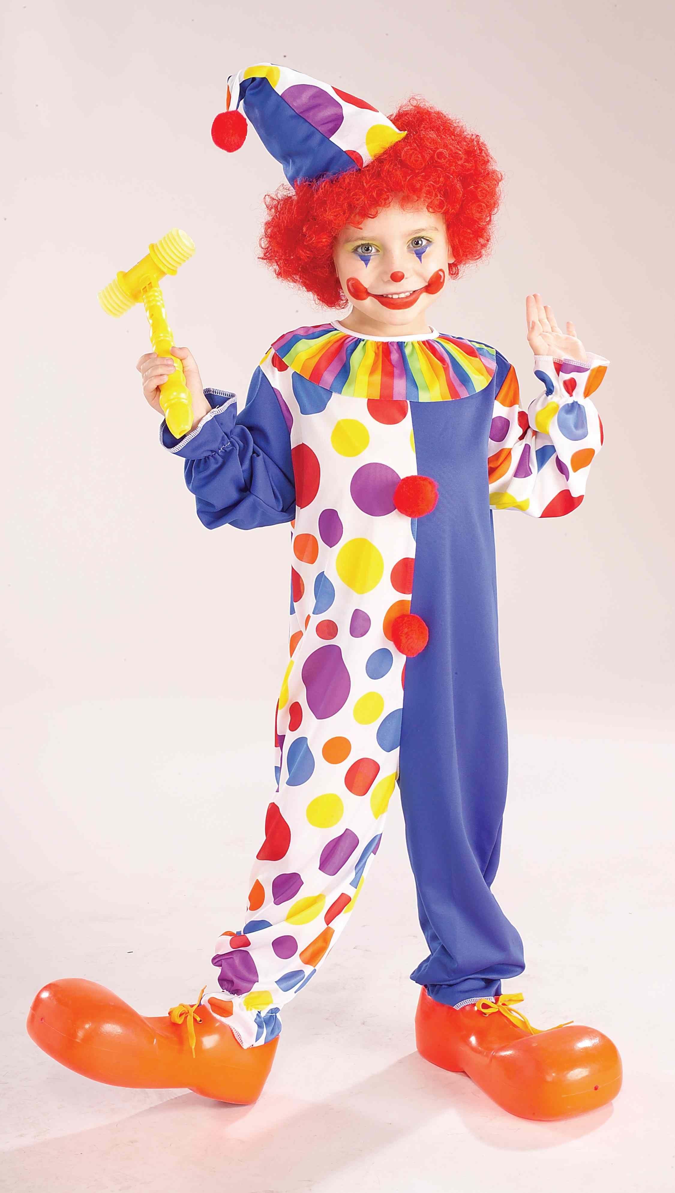Костюм клоуна своими рукам фото