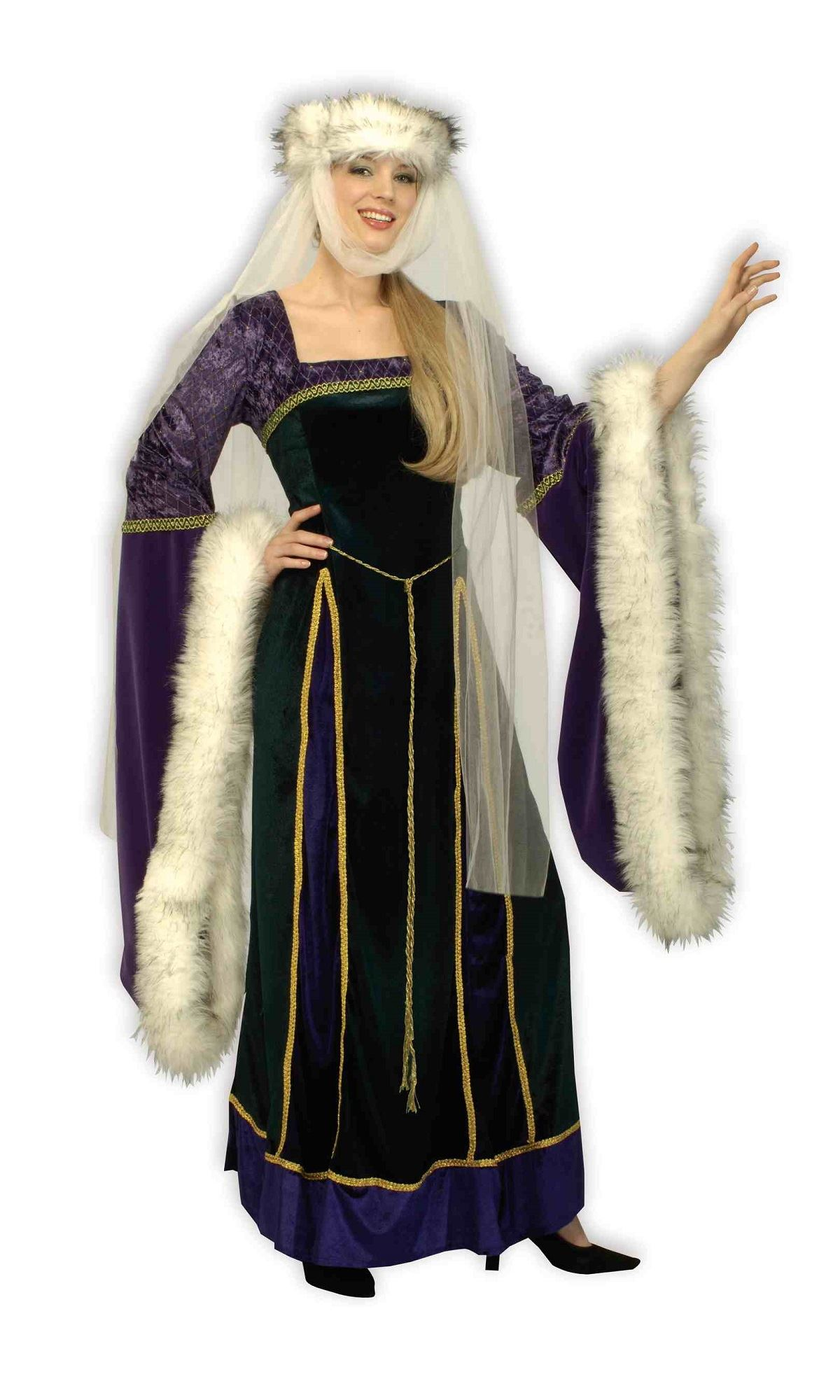 Adult Medieval Lady Woman Renaissance Costume  sc 1 st  The Costume Land & Adult Medieval Lady Woman Renaissance Costume | $69.99 | The Costume ...