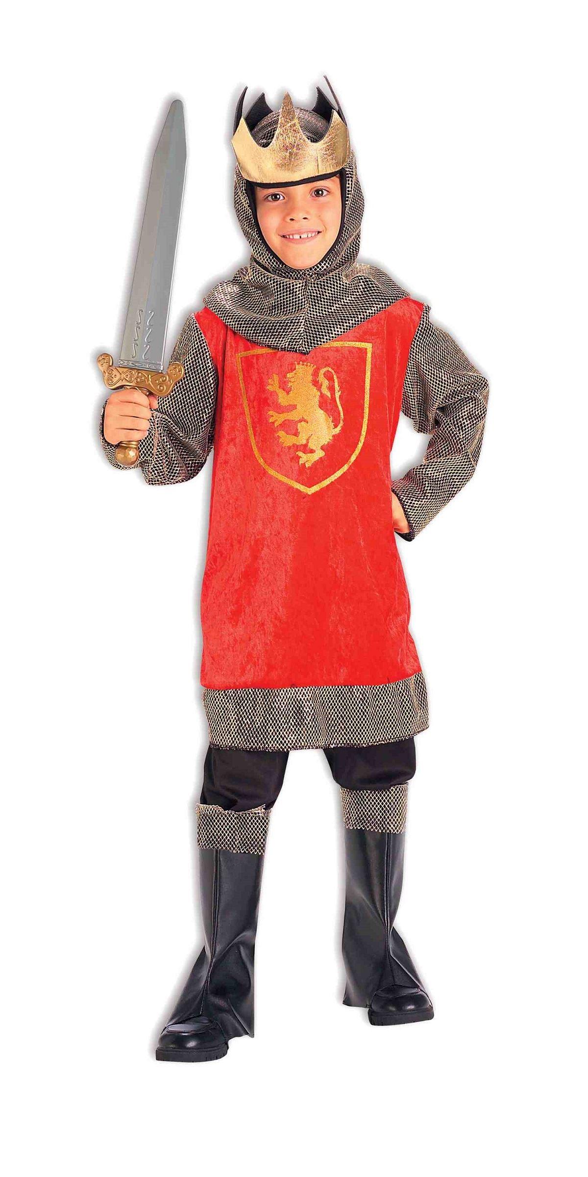 Kids Medieval King Boys Crusader Costume   $27.99   The Costume Land