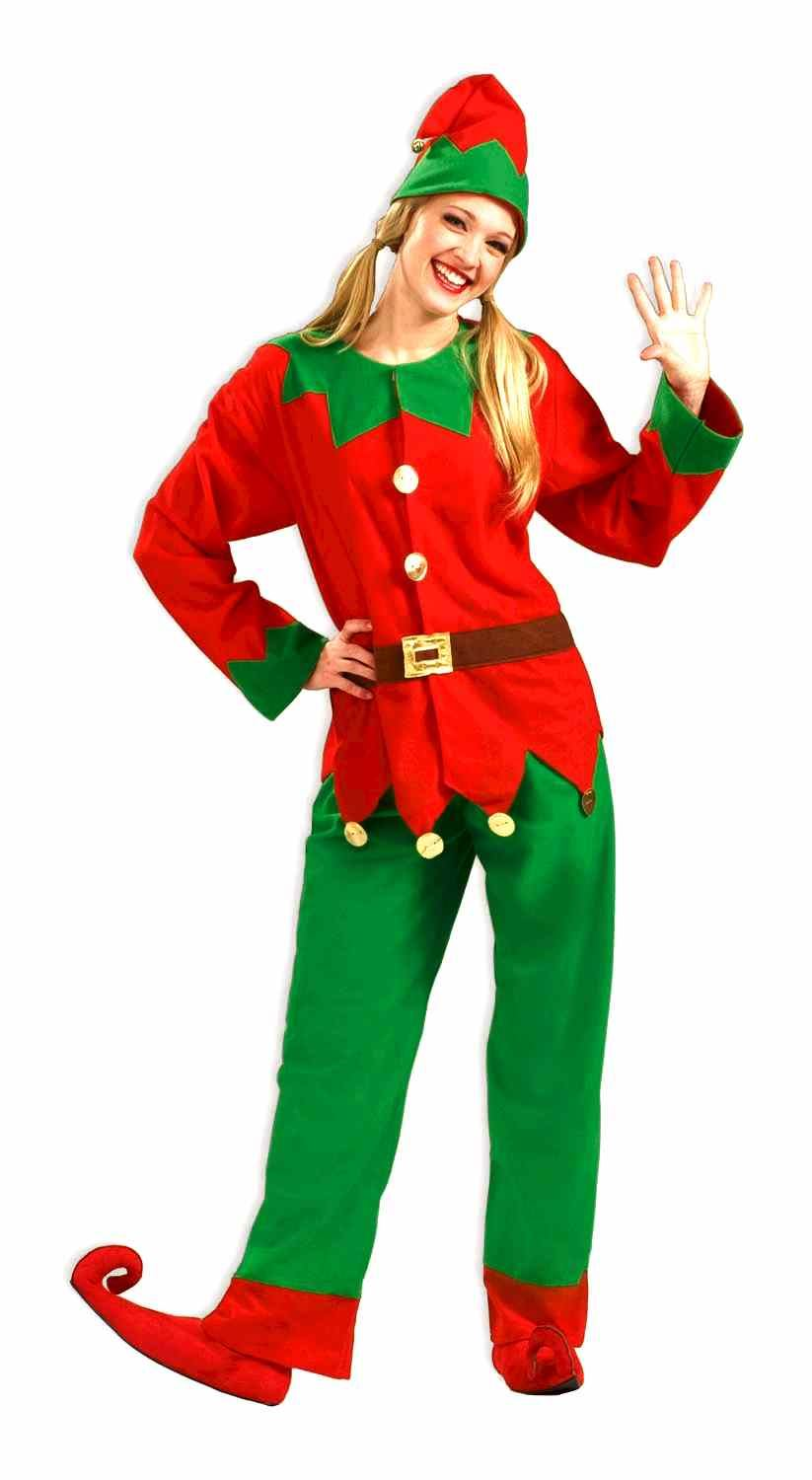 Christmas Elf Costume.Adult Christmas Santas Elf Costume