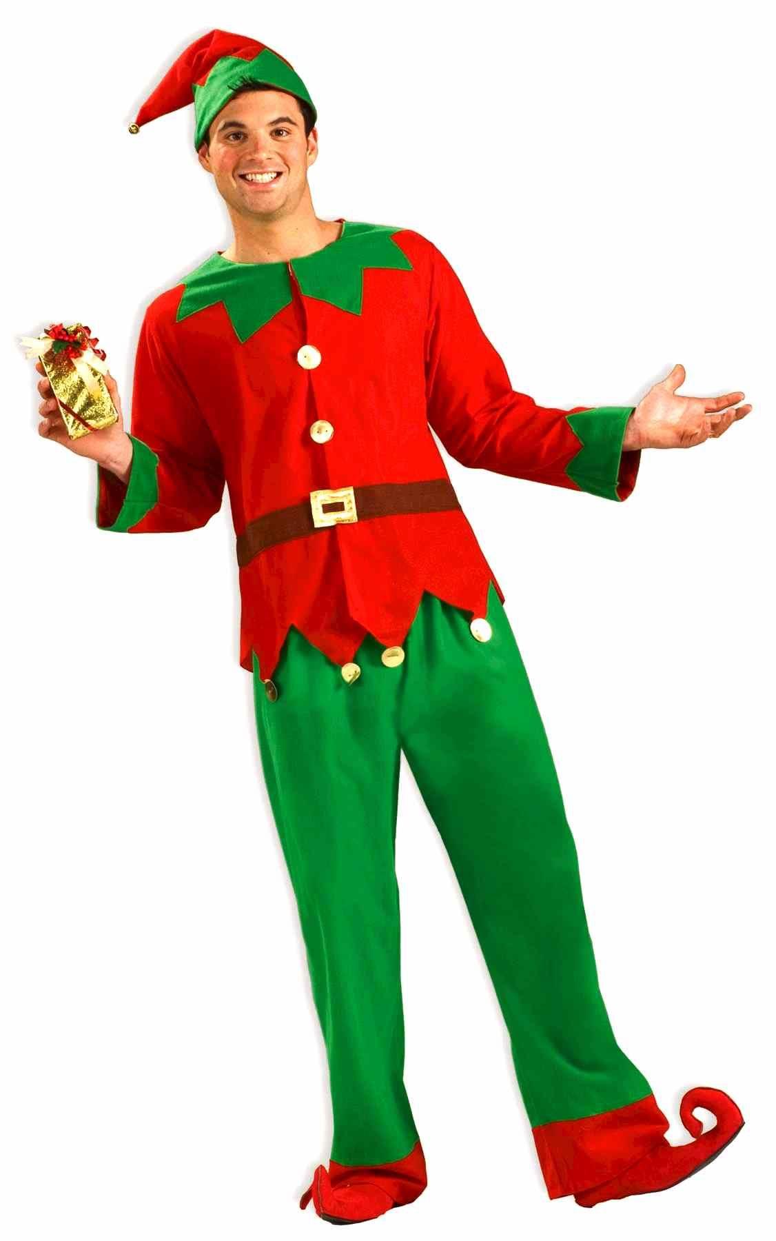 Adult Christmas Santas Elf Costume Adult Christmas Santas Elf Costume