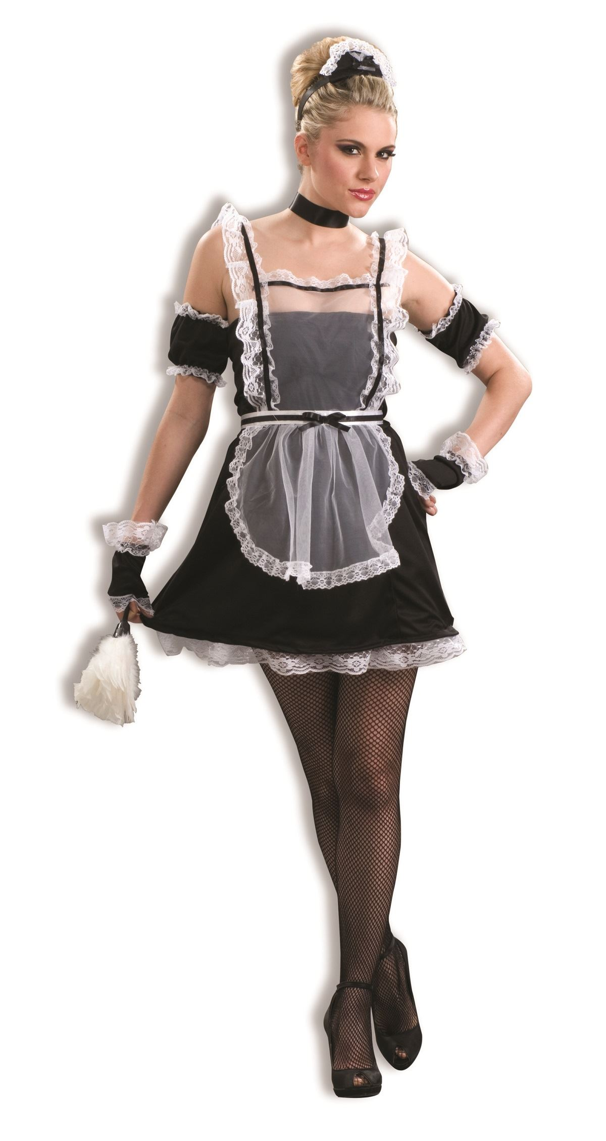 French Woman Halloween Costume Adult Chamber Maid Wom...