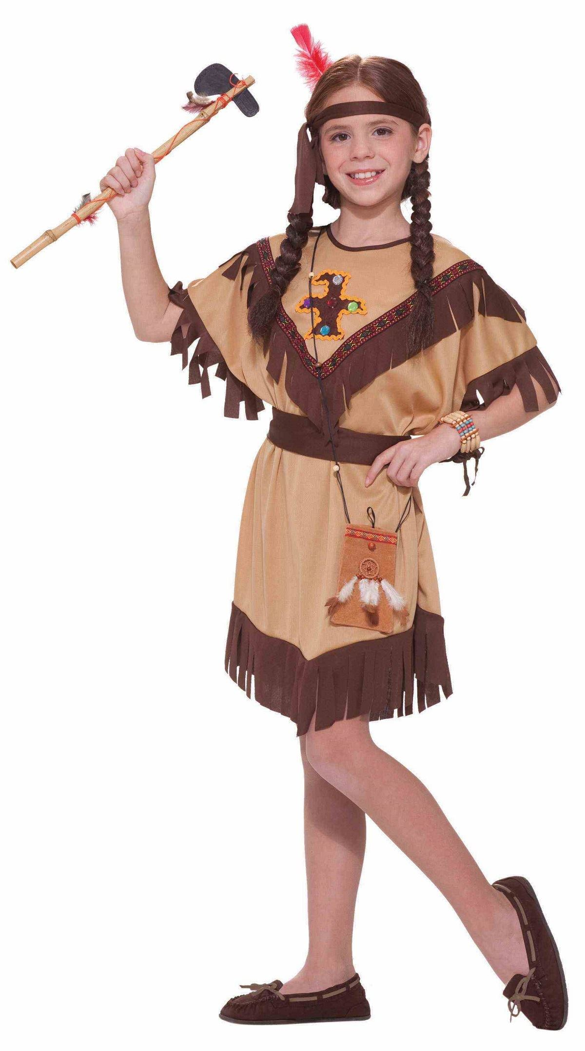 kids native american princess girls costume - Native American Costume Halloween