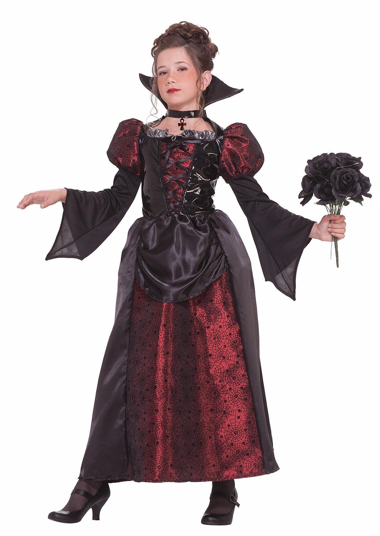 Kids Vampire Designer Deluxe Girl Costume 28 99 The