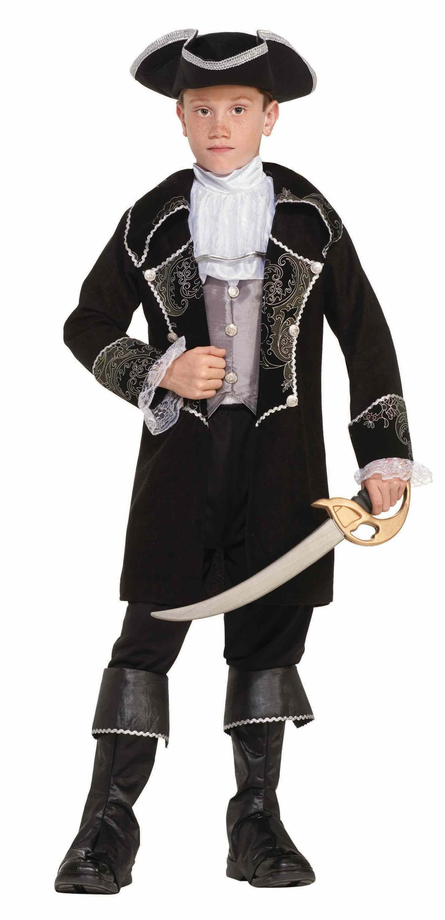 Kids Swashbuckler Pirate Boys Deluxe Costume  sc 1 st  The Costume Land : swashbuckler pirate costume  - Germanpascual.Com