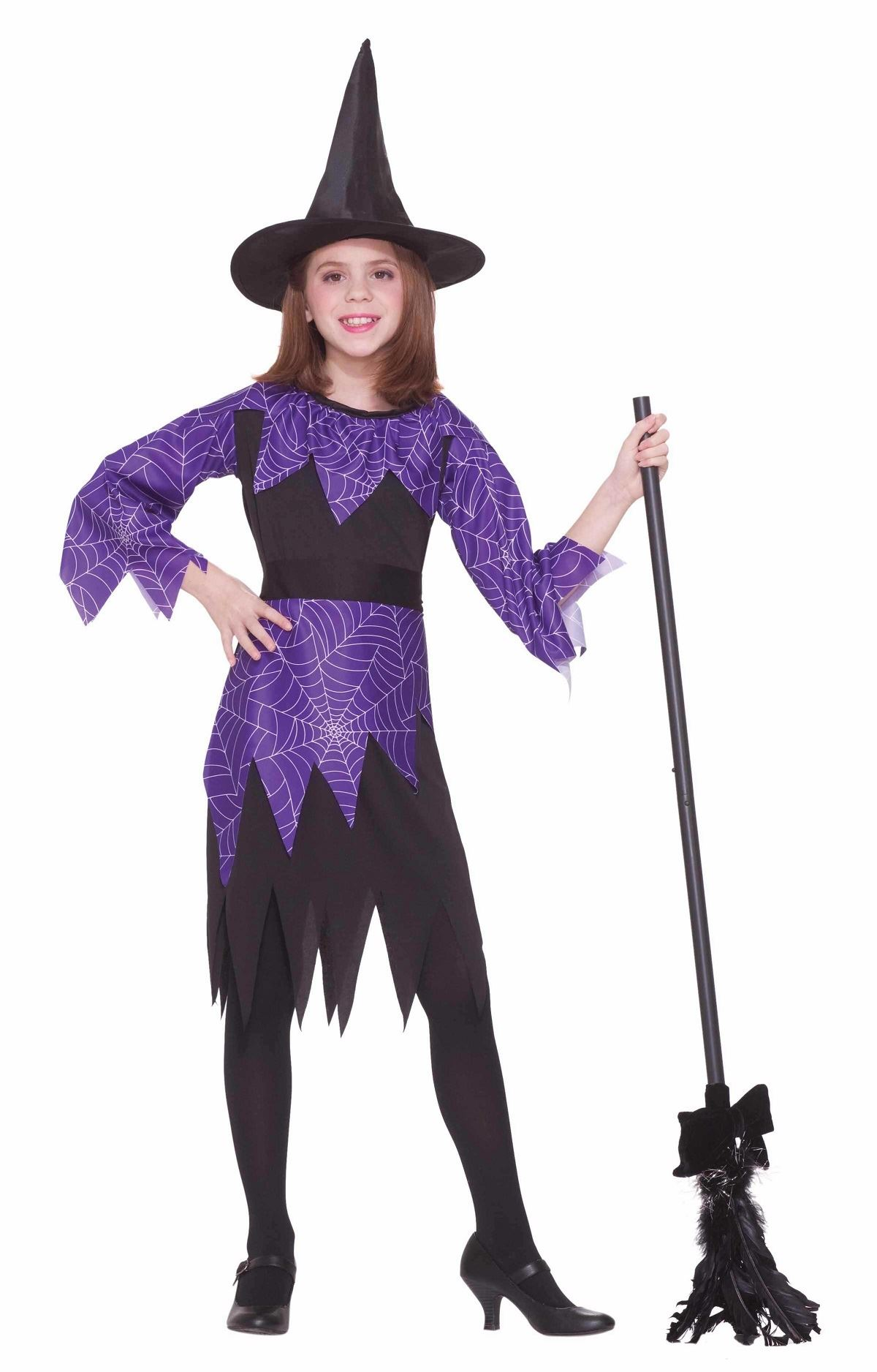 Kids Girls Spider Witch Costume | $14.99 | The Costume Land
