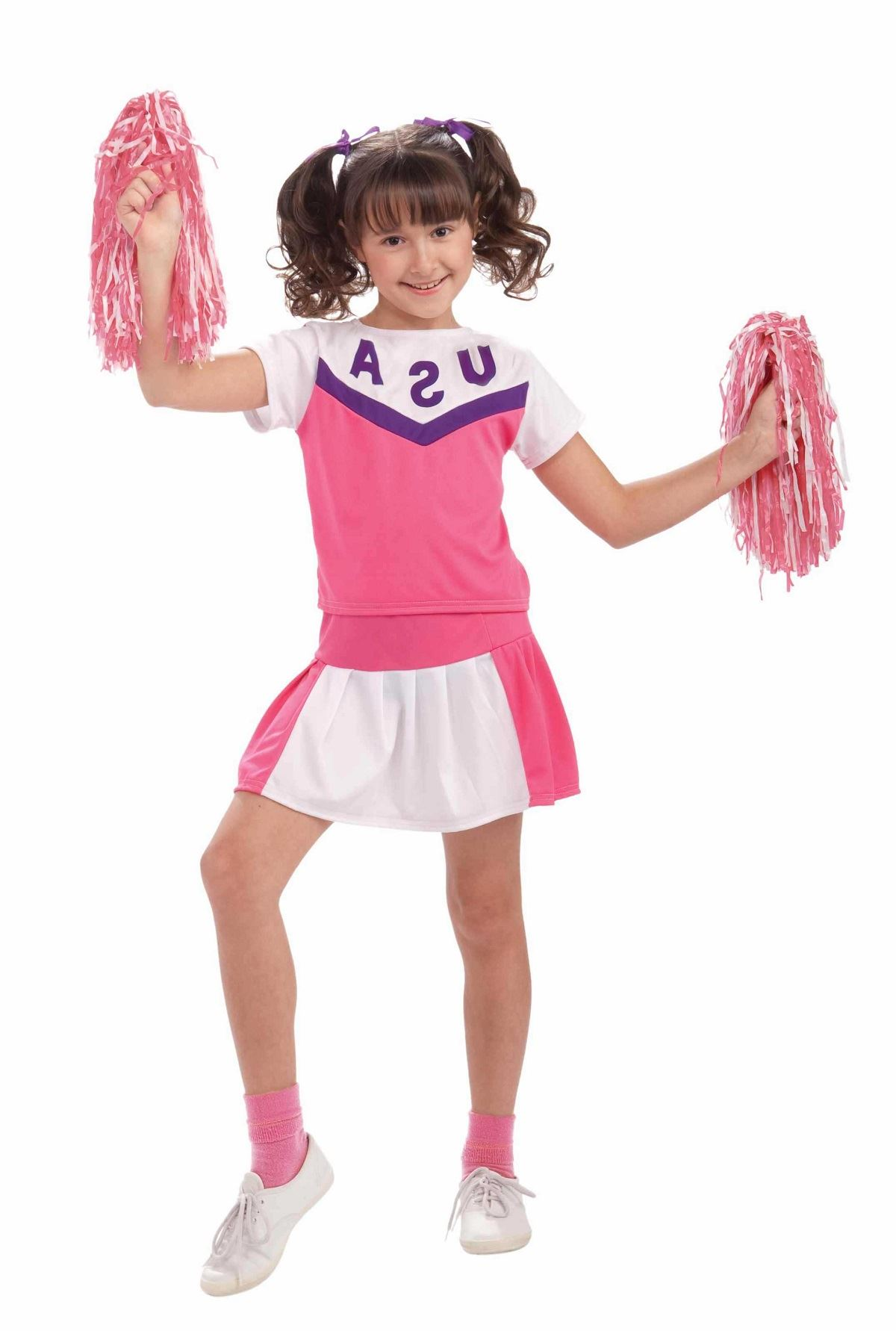 Kids Girls Classic Cheerleader Costume | $9.99 | The ...