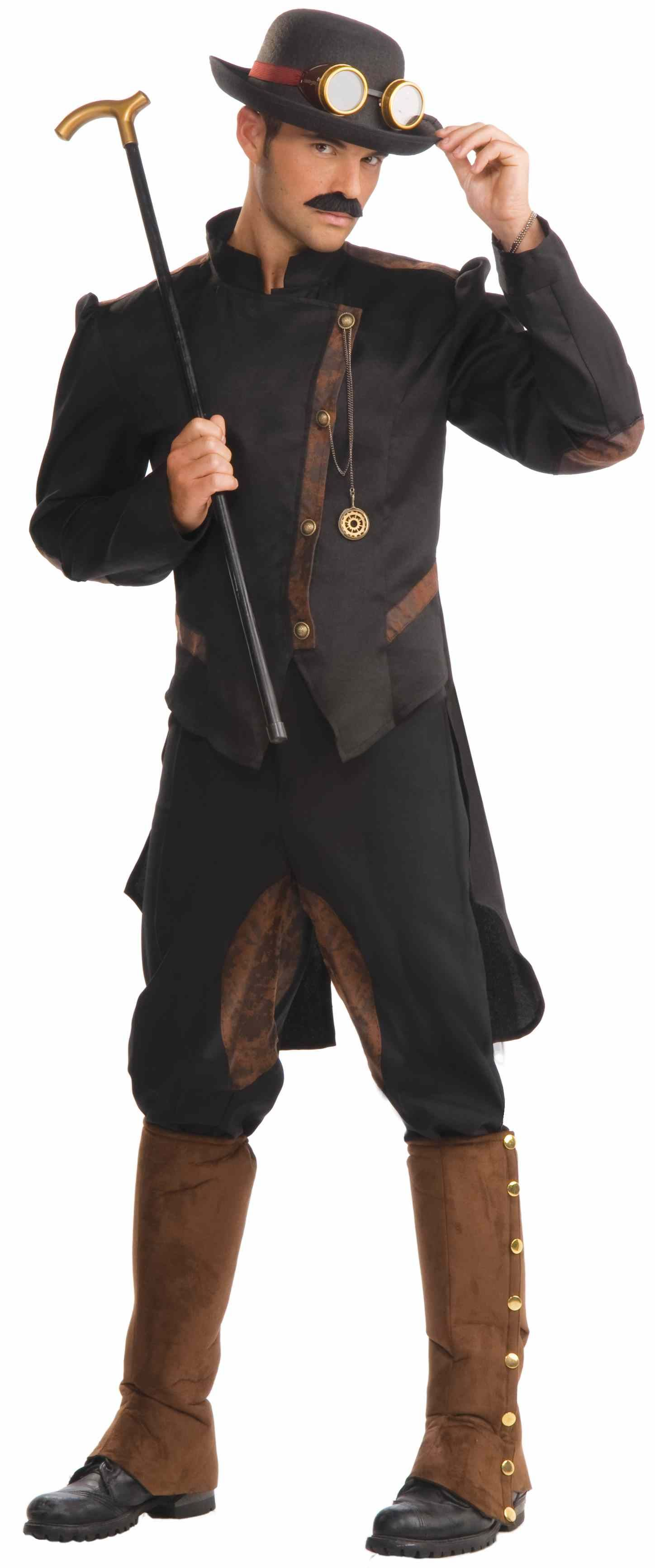 Steampunk Gentleman Men Halloween Costume 5499 The