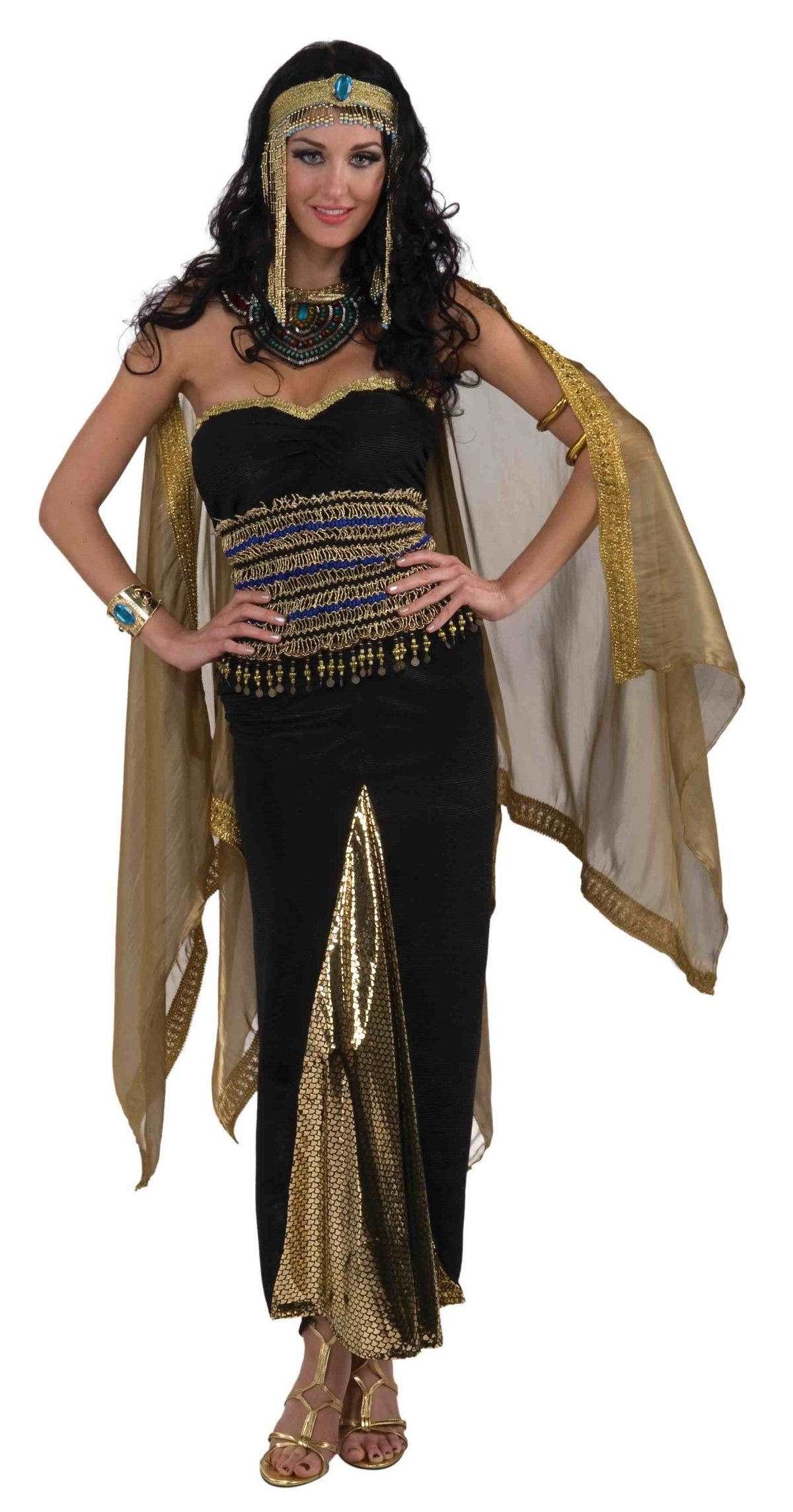 Adult Priestess Of The Nile Woman Egyptian Costume  sc 1 st  The Costume Land & Adult Priestess Of The Nile Woman Egyptian Costume | $45.99 | The ...