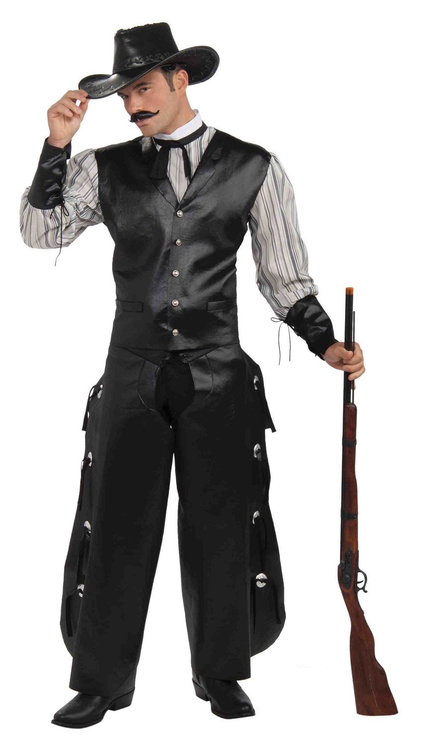Adult West Rogue Gambler Men Cowboy Costume | $46.99 | The ...