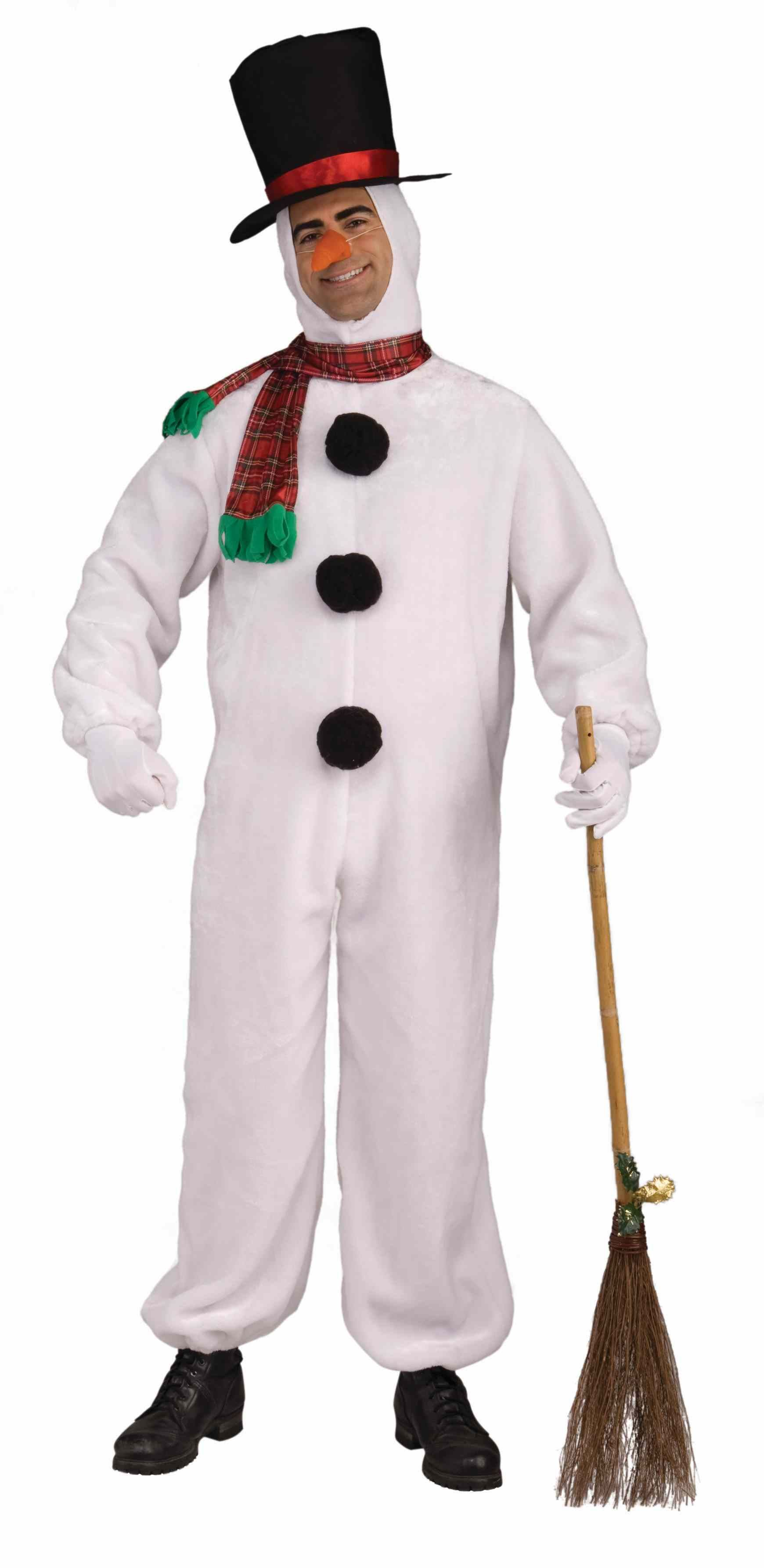 adult deluxe snowman costume | $45.99 | the costume land
