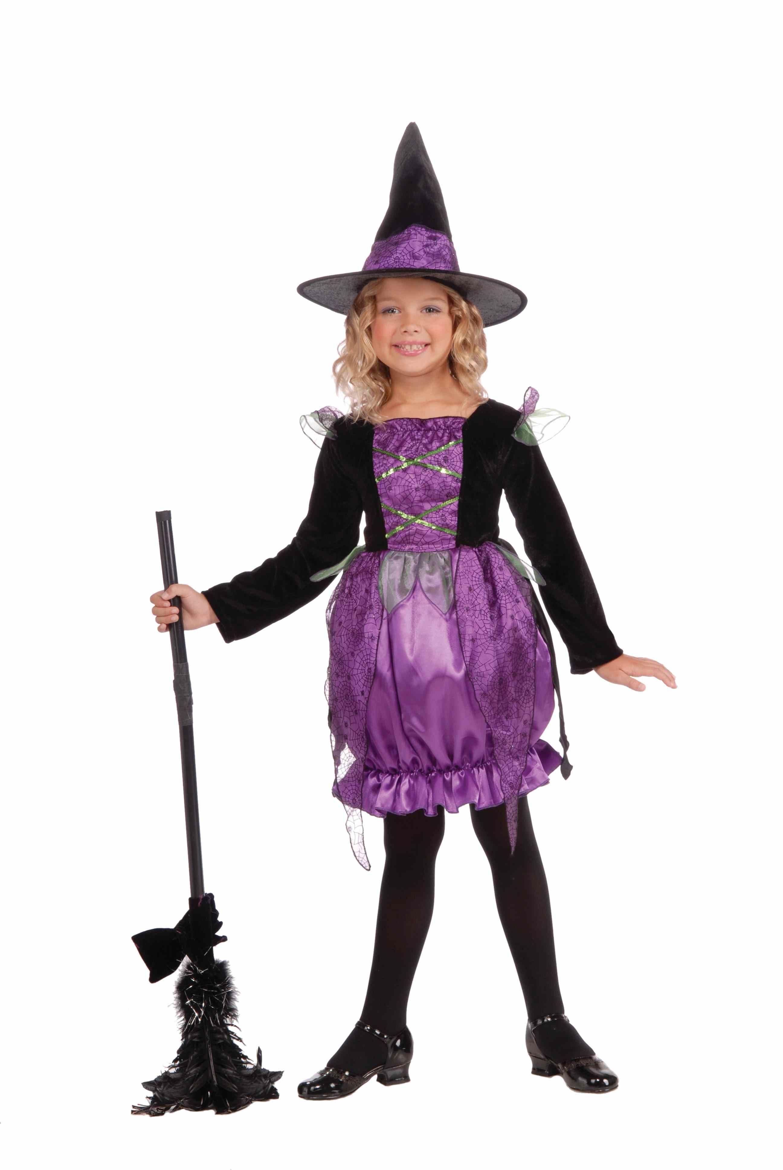 Halloween Witch Costume - klejonka