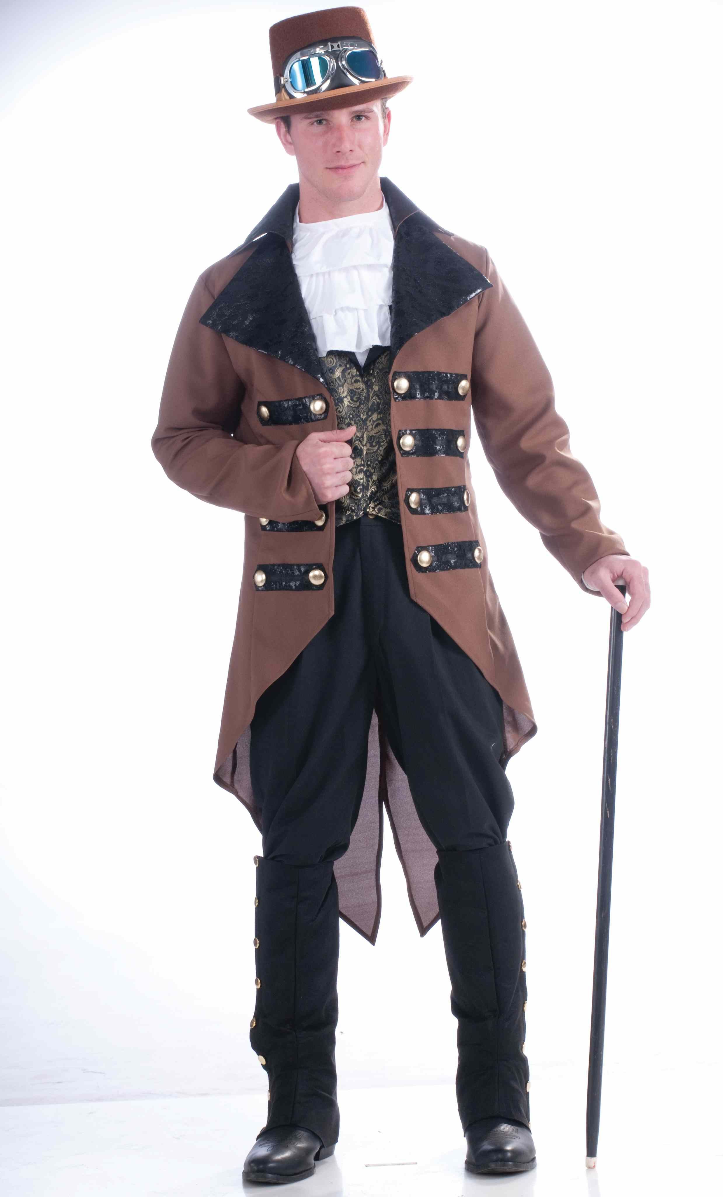 Adult Victorian Men Steampunk Costume 2999 The