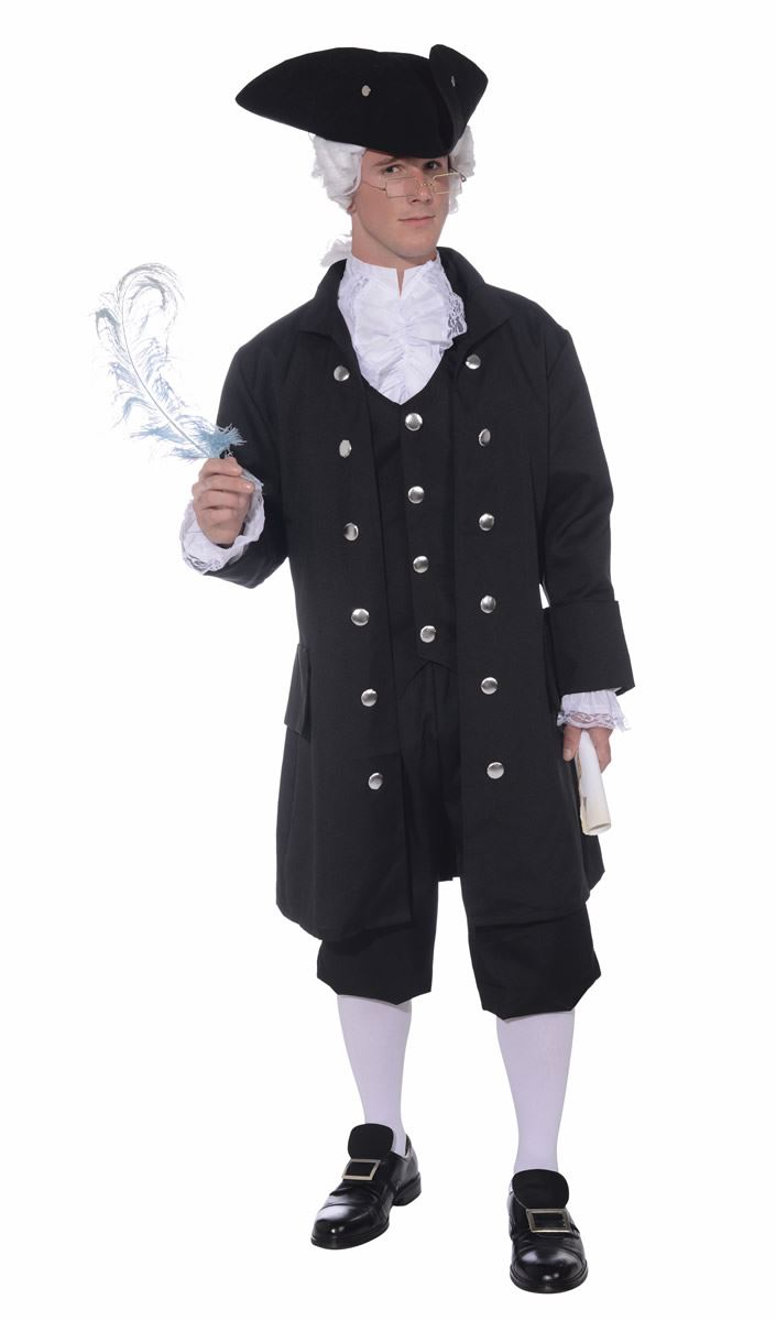 Founding Father Men Patriotic Costume