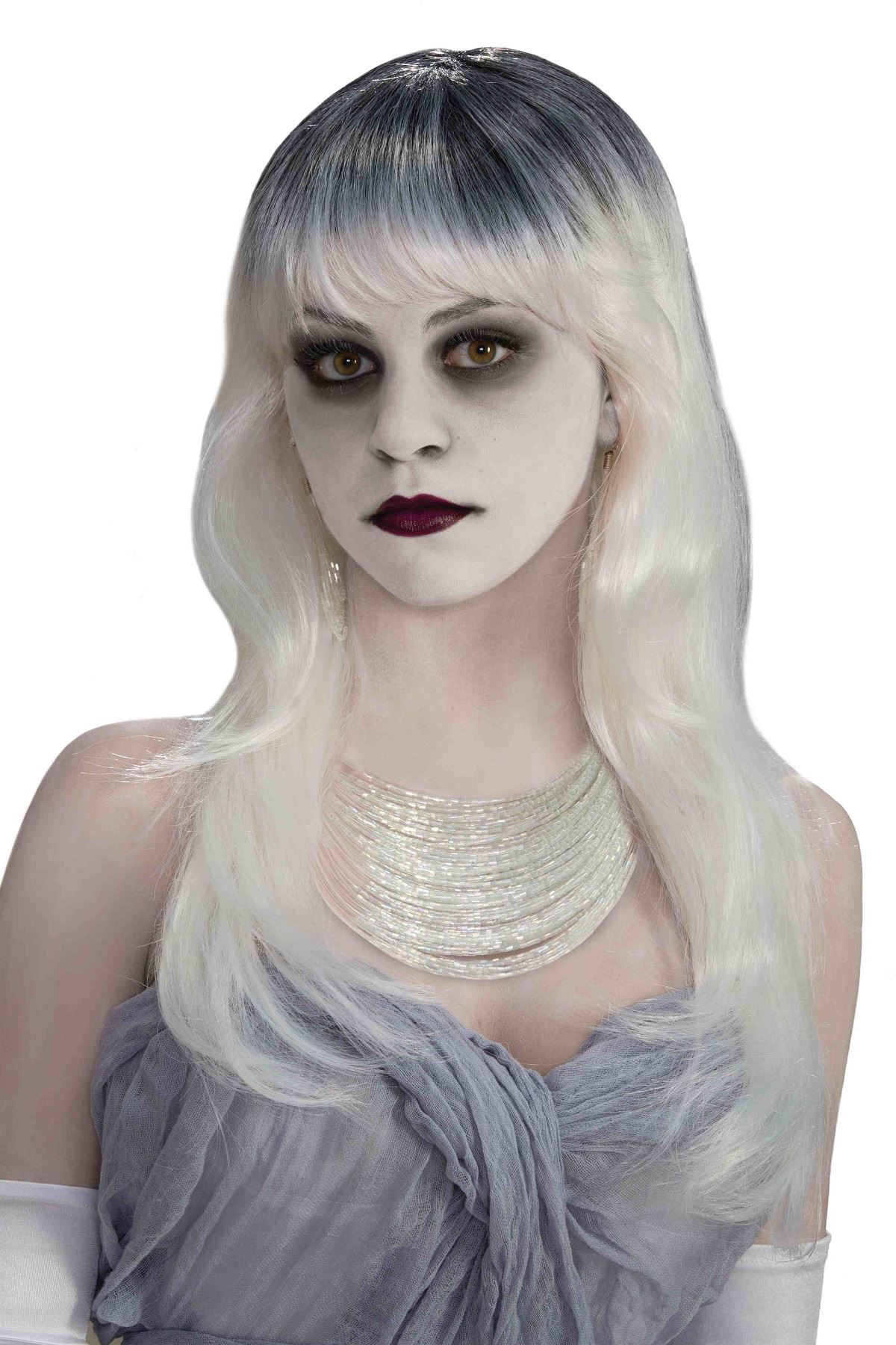 womens wigs wigs for women halloween adult haunted ghost
