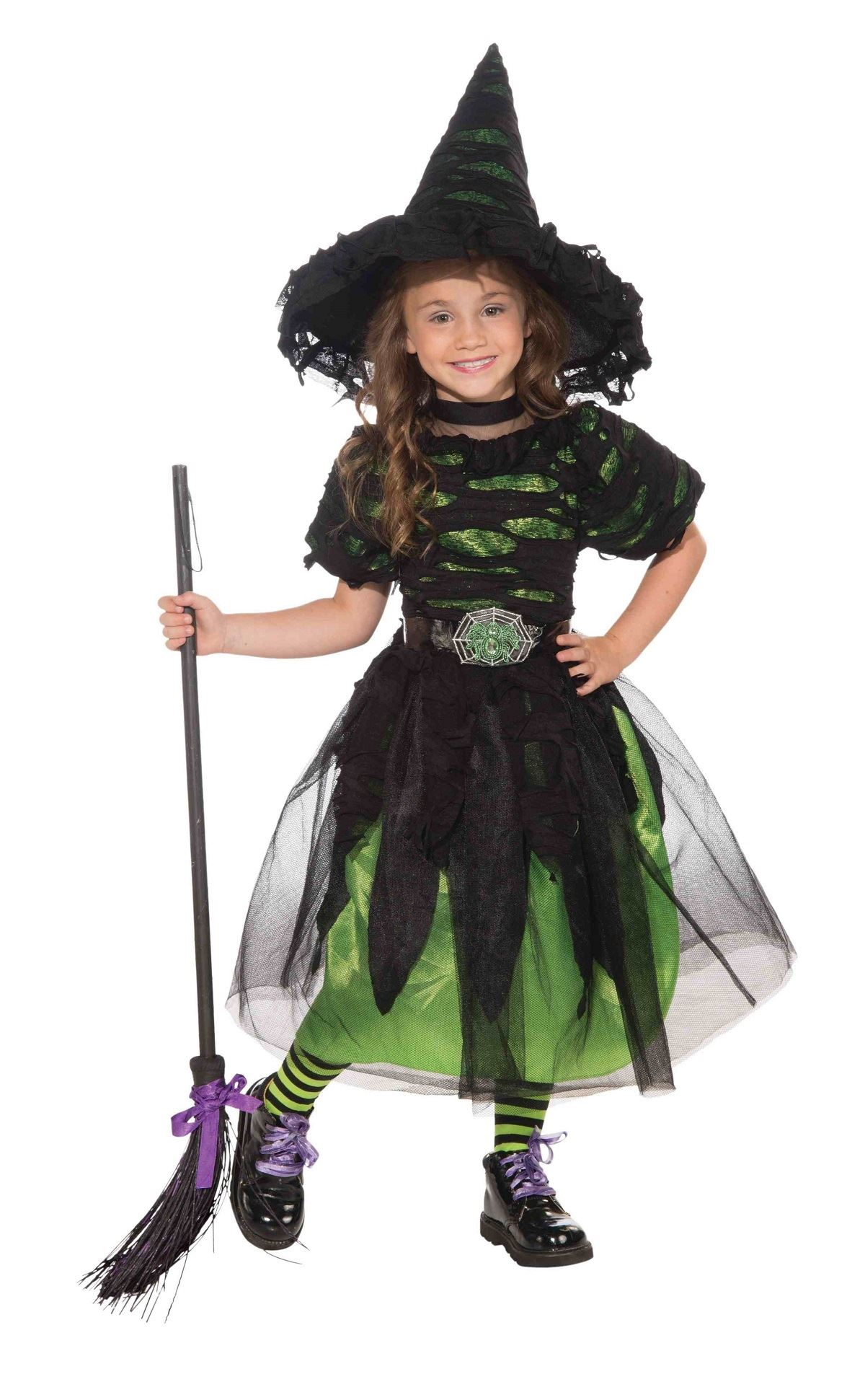 Kids Mysteria Witch Designer Girls Witch Costume | $31.99 | The ...