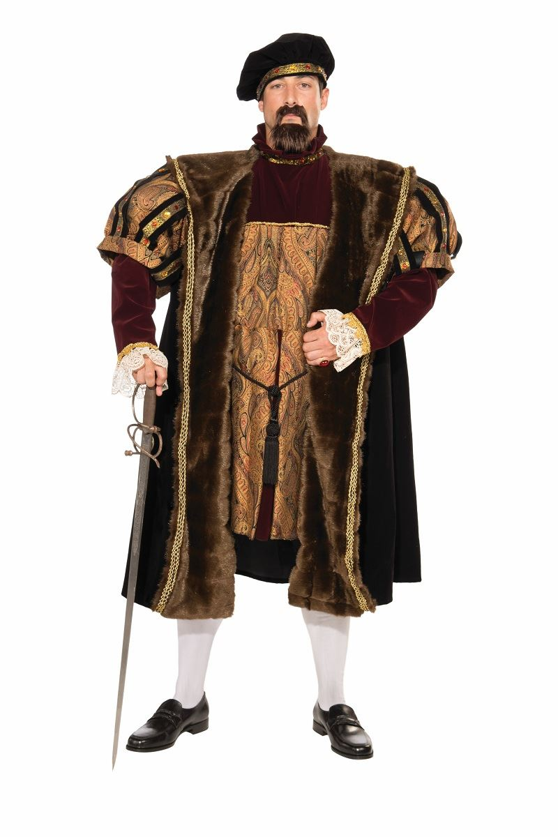 Adult Henry Medieval Deluxe Men Costume | $147.99 | The ...