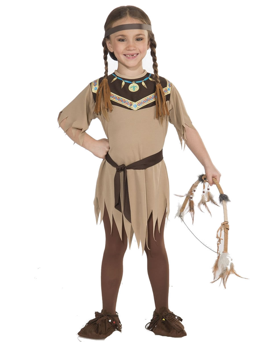 Native American Princess Non Native Costume Large