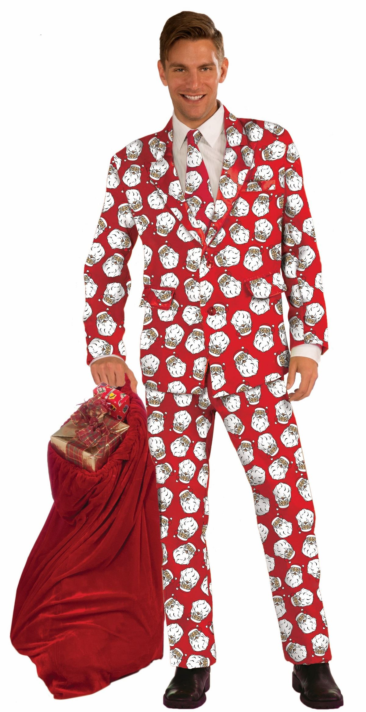 Santa tuxedo christmas halloween costume 63 99 the costume land