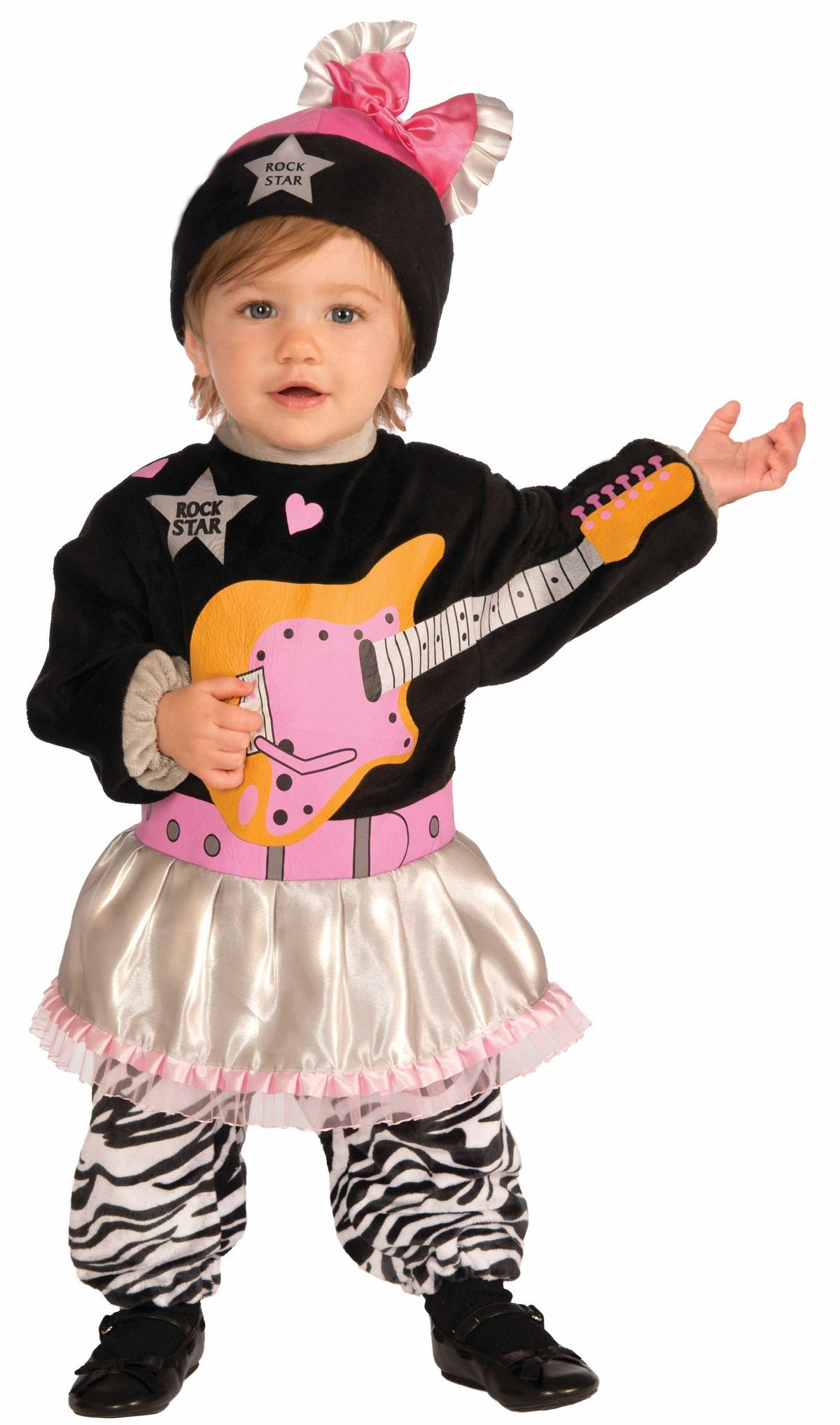 Kids 80s Baby Girl Punk Style Toddler Costume | $22.99 | The ...