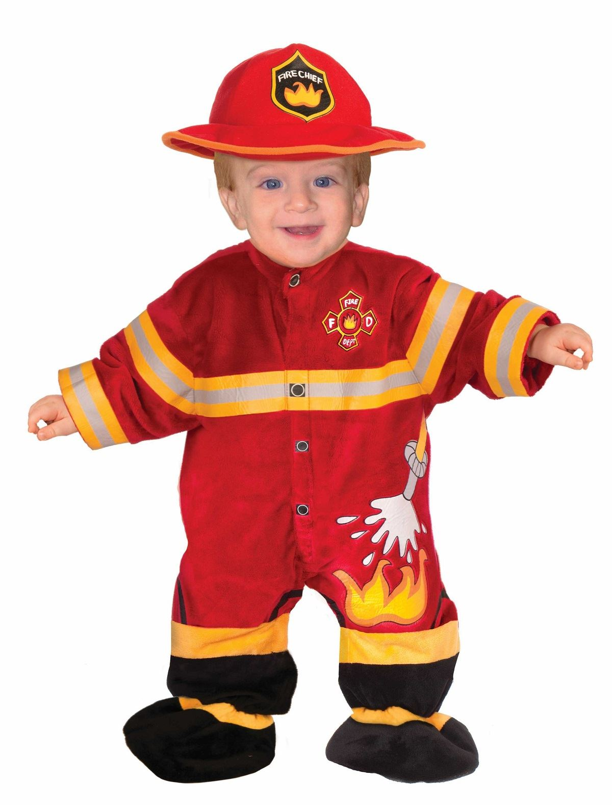 Kids Fireman Toddler Costume | $15.99 | The Costume Land