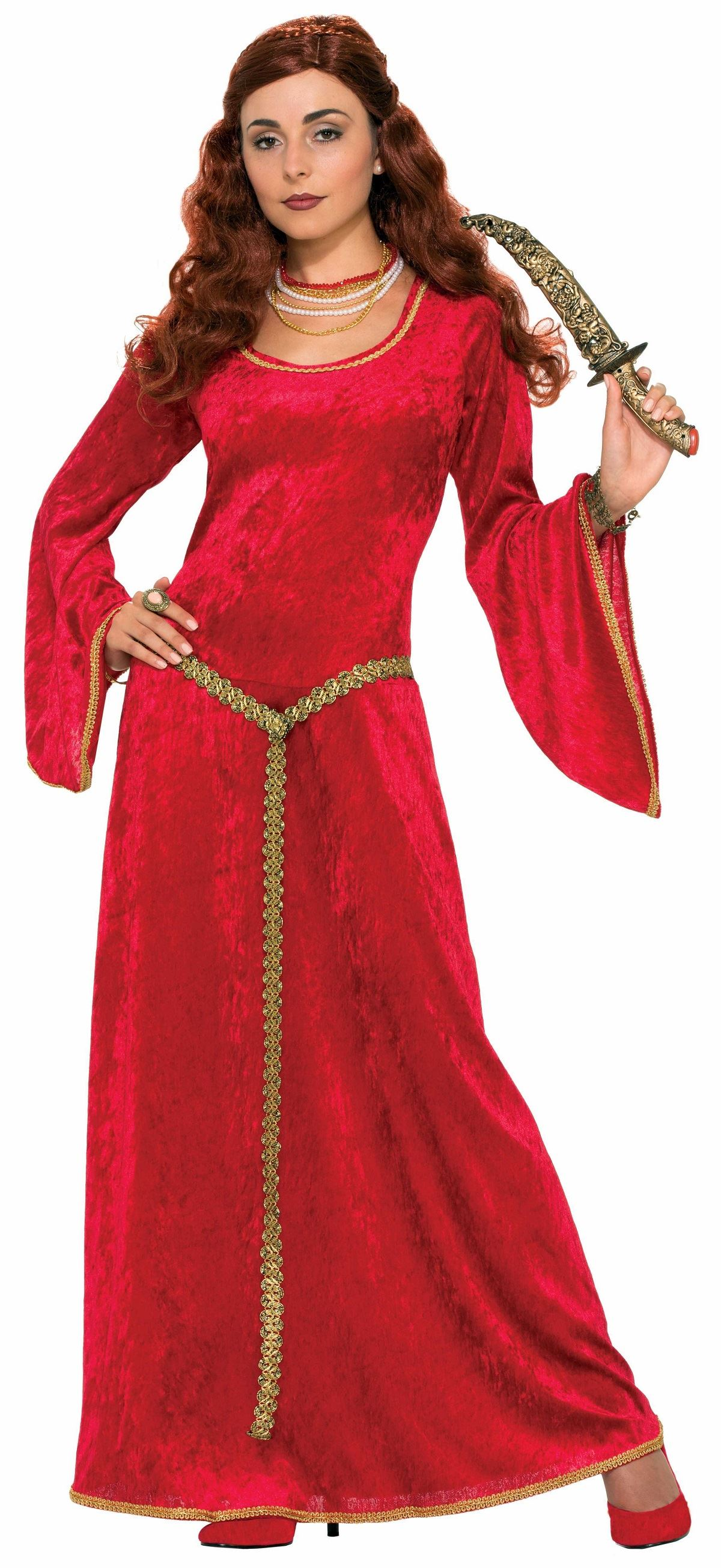 Adult Ruby Sorceress Women Medieval Costume | $31.99 | The ...