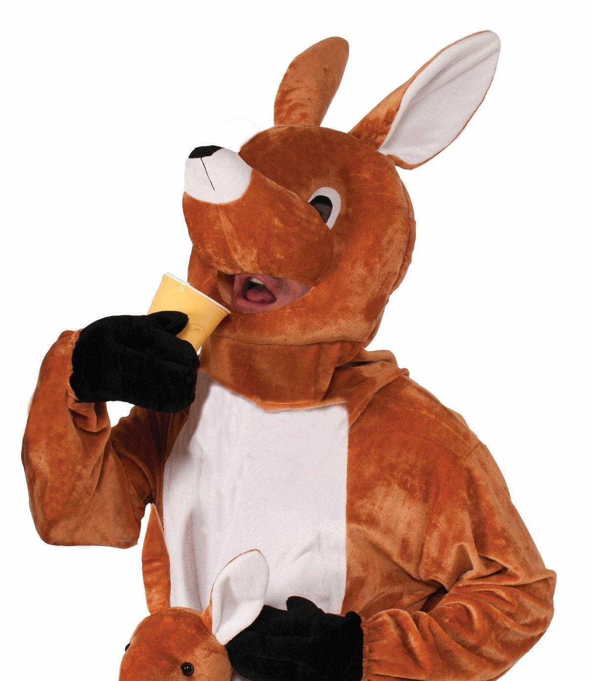 ... Adult Jumpin Jenny The Kangaroo Mascot Costume  sc 1 st  The Costume Land & Adult Jumpin Jenny The Kangaroo Mascot Costume | $61.99 | The ...