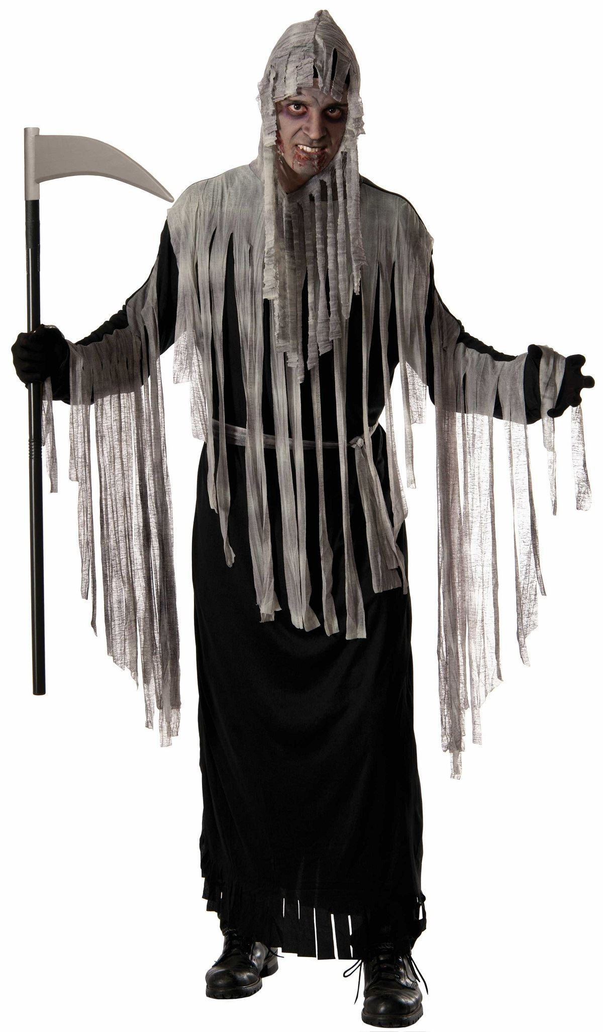 adult haunted reaper robe men halloween costume | $25.99 | the