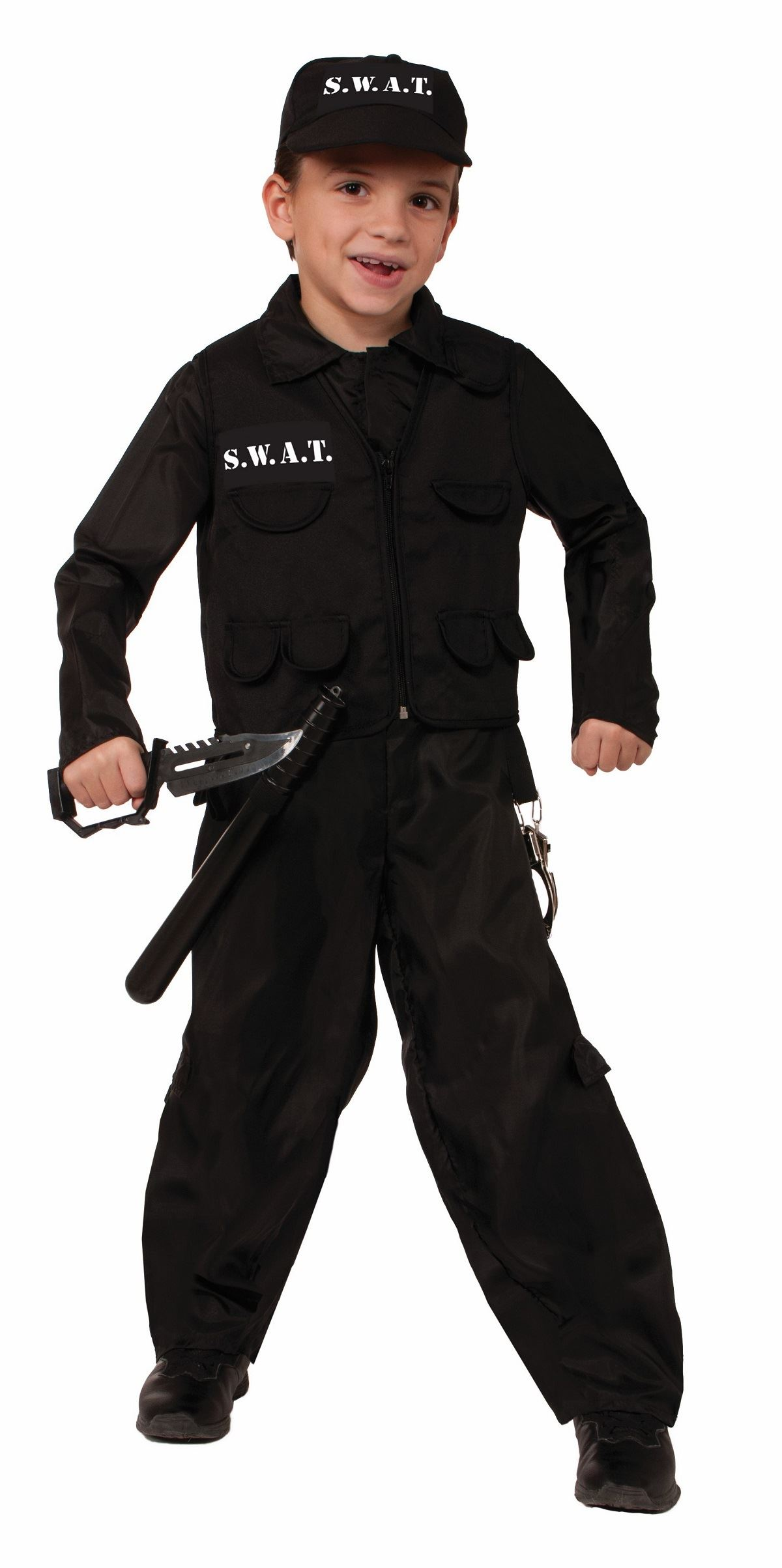 Kids Boys SWAT Police Costume  sc 1 st  The Costume Land : kids swat costume  - Germanpascual.Com