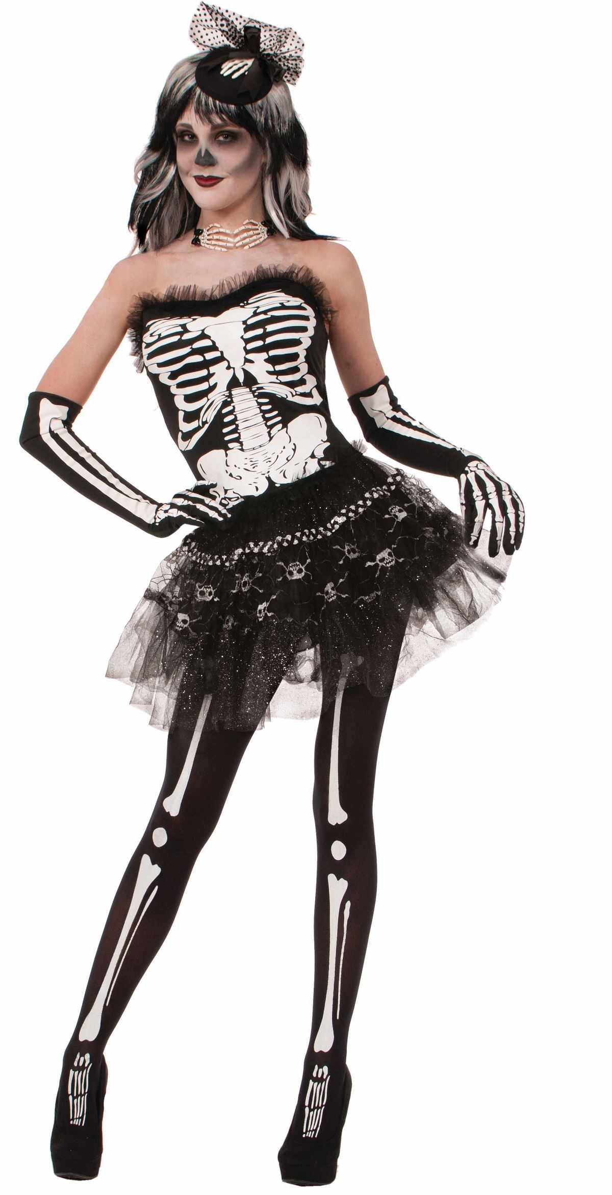 Sexy Skeletons Costumes for Women — Skeleton Halloween Costumes for Kids & Adults. From sexy skeleton costumes for women to elaborate zombie skeleton costumes for boys and skeleton morphsuits for men, if bare bones are your thing, you've come to the right haunting place.