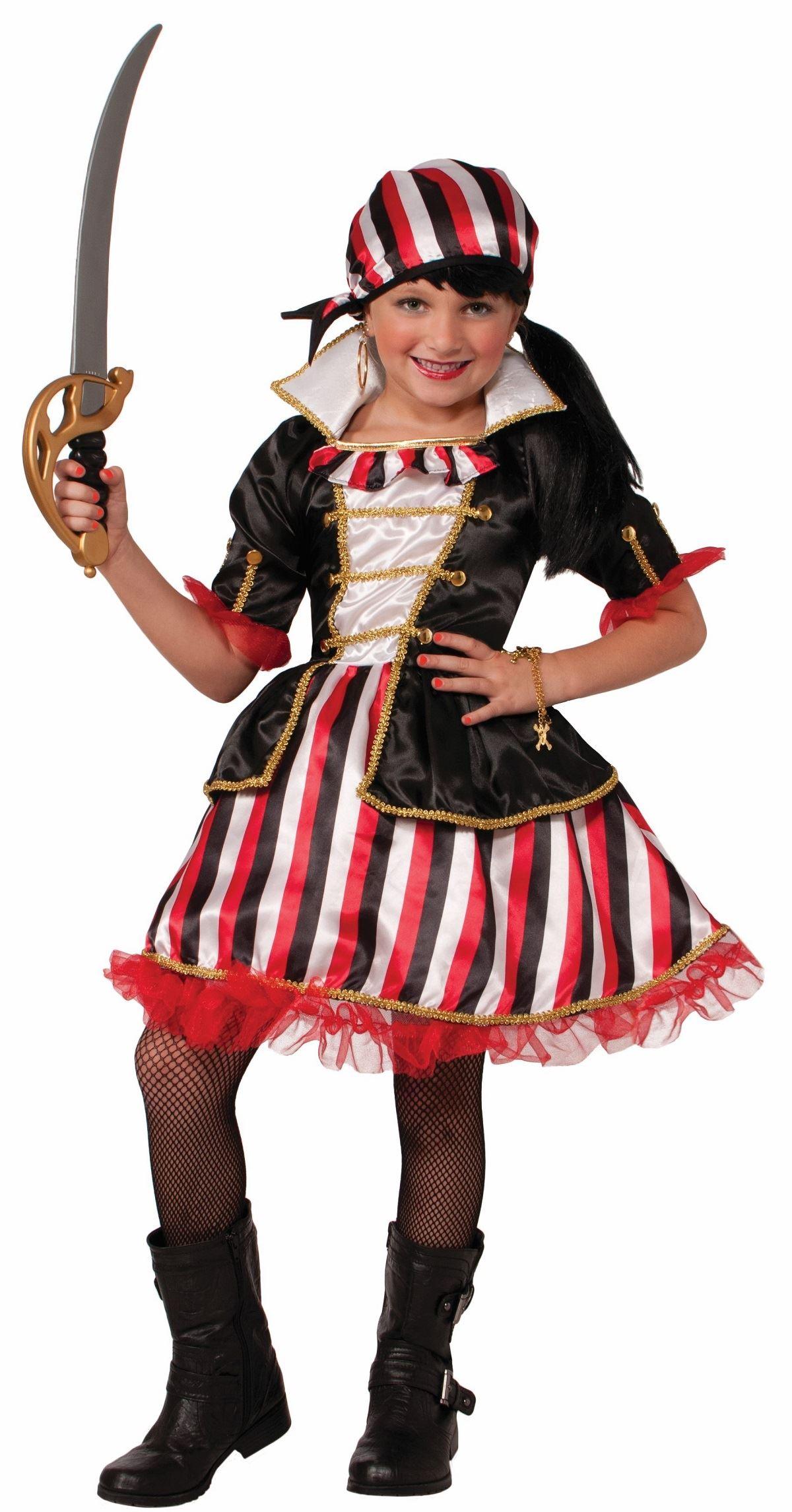 Cute Pirate Costume For Girls