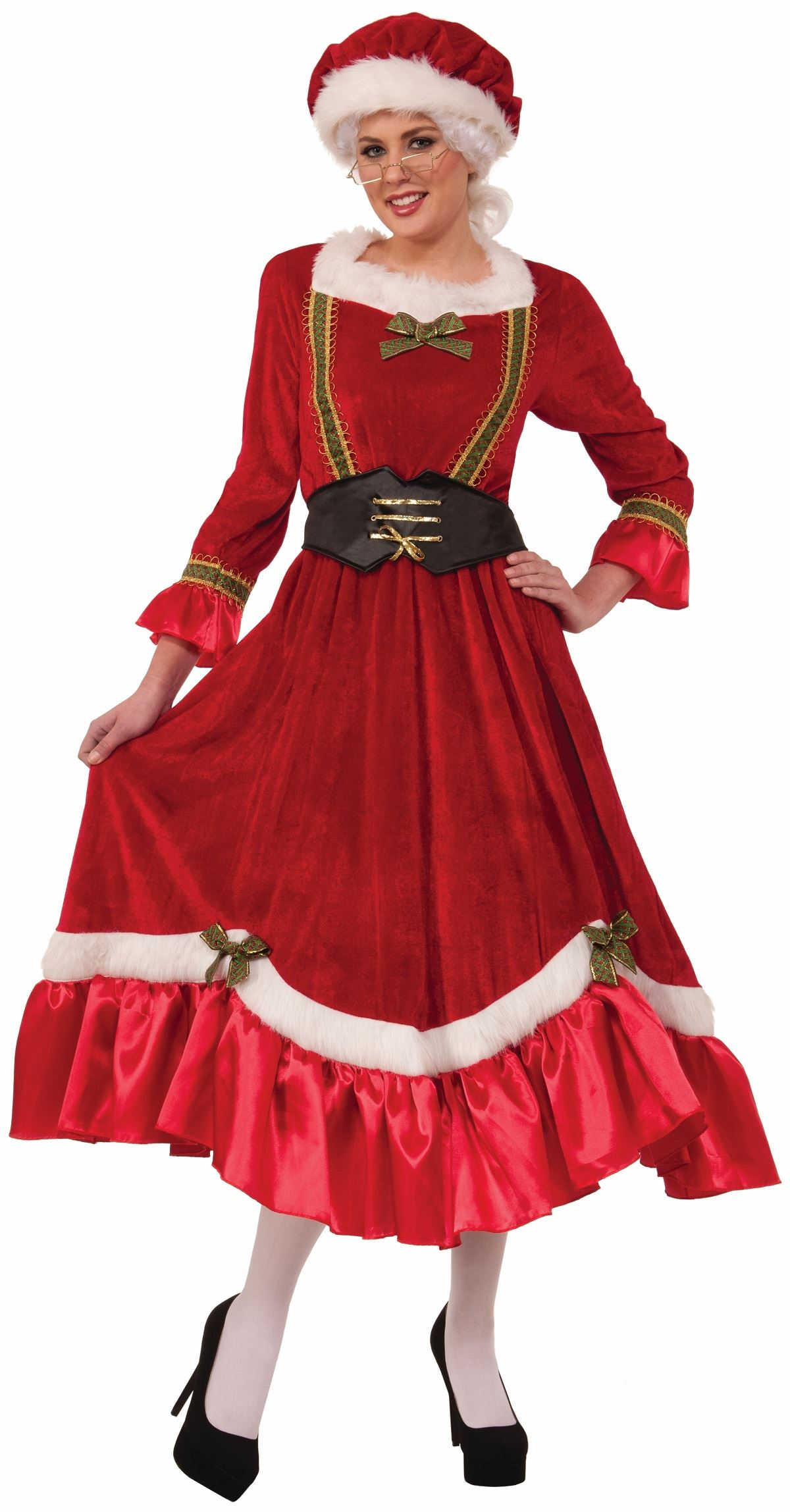Adult Santas Mrs Claus Woman Costume 40 99 The Costume Land