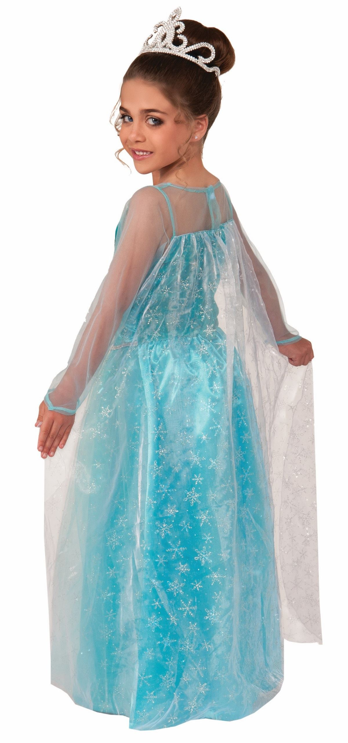 Kids Snow Queen Princes Girls Costume | $34.99 | The Costume Land