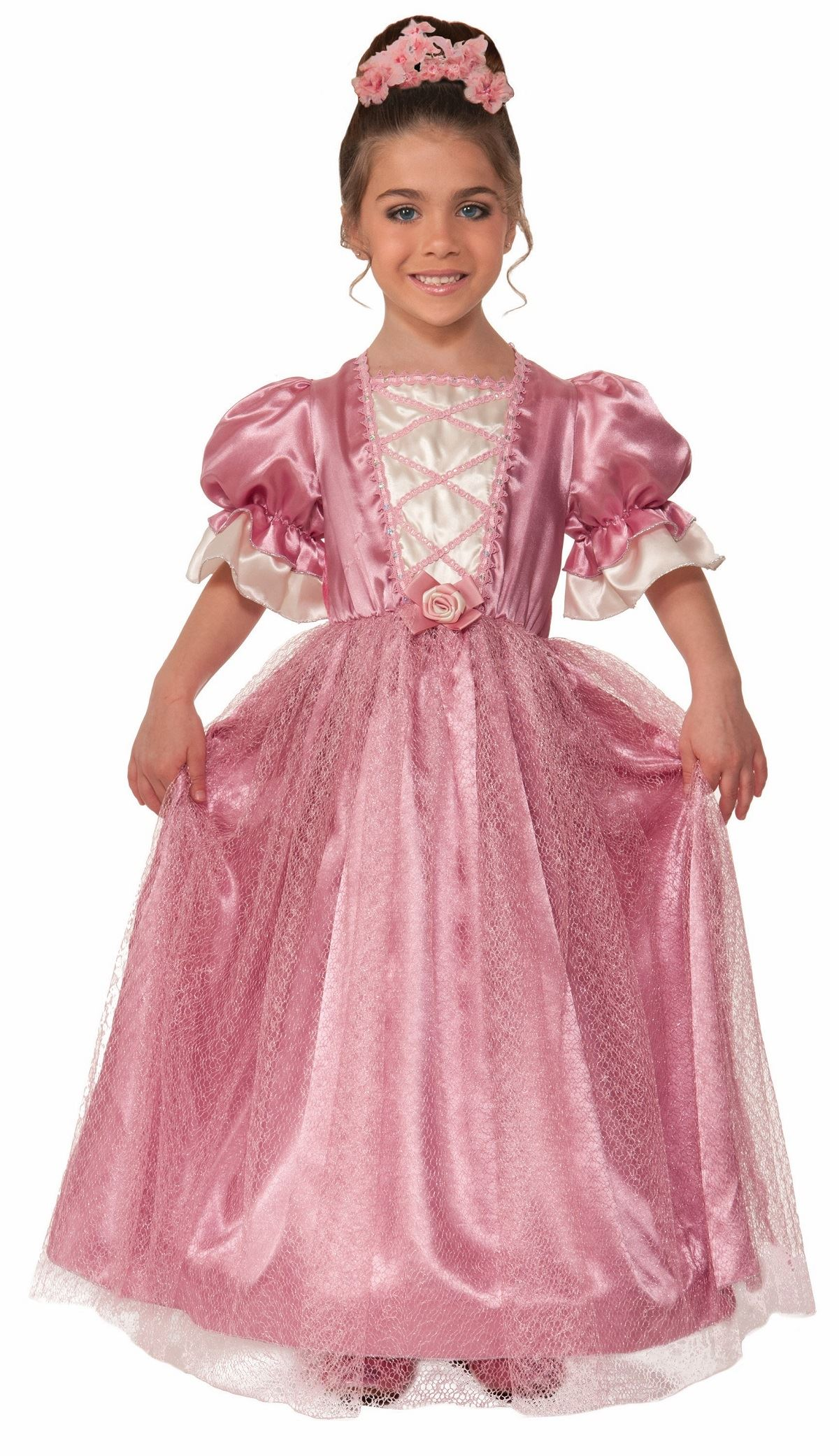 Kids Victorian Rose Girls Costume | $43.99 | The Costume Land