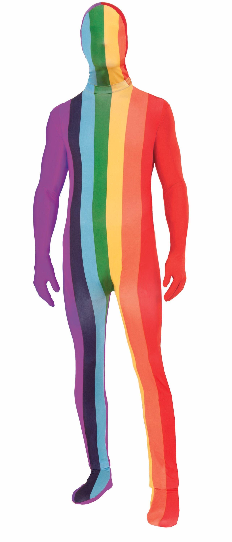Adult Rainbow Men Bodysuit | $38.99 | The Costume Land