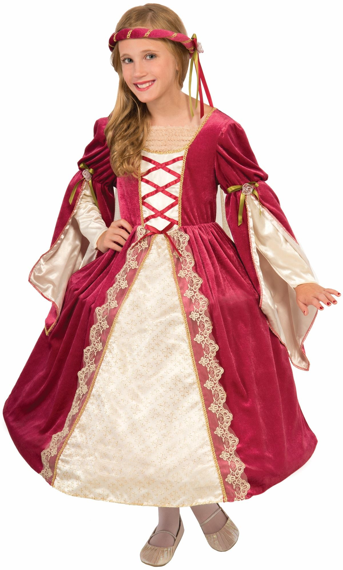 Kids Medieval Princess Girls Costume  sc 1 st  The Costume Land & Kids Medieval Princess Girls Costume | $30.99 | The Costume Land