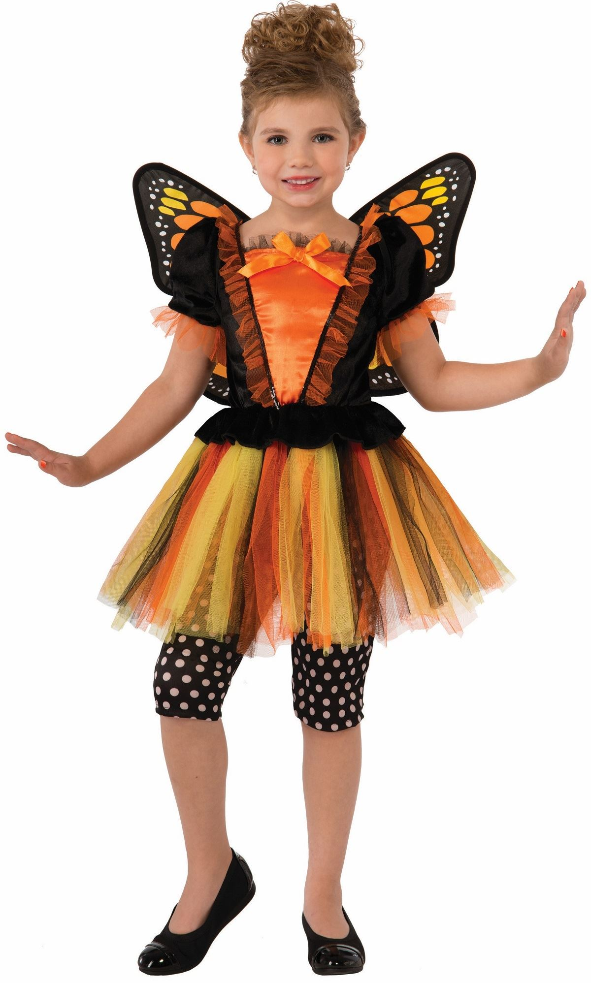 Kids Monarch Girls Butterfly Costume | $30.99 | The Costume Land