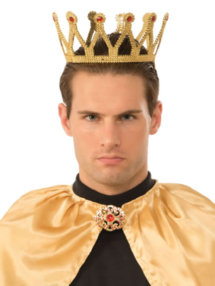 Crowns, Tiaras & Sashes; Add a touch of evil to your costume appearance with this Dark Royalty Dark Queen Crown! One size fits most $ Dark Royalty King Crown. Add To Cart Play dress up with your kids with this Adjustable King Crown! For ages 3 and up % felt Shop all Crowns.