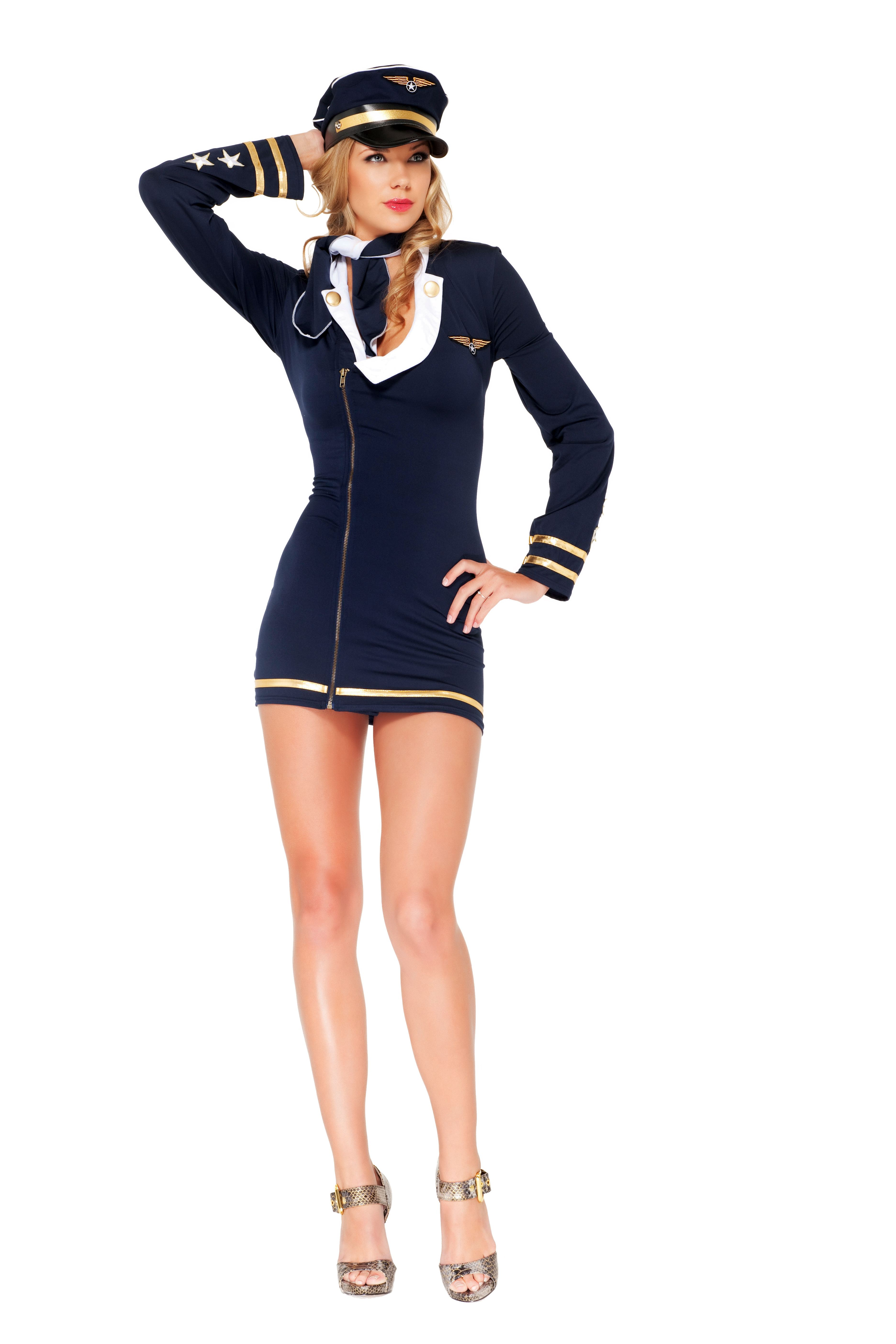 M: Forum Novelties Airline Pilot Costume, Small: Toys Games Old fashioned pilot costume