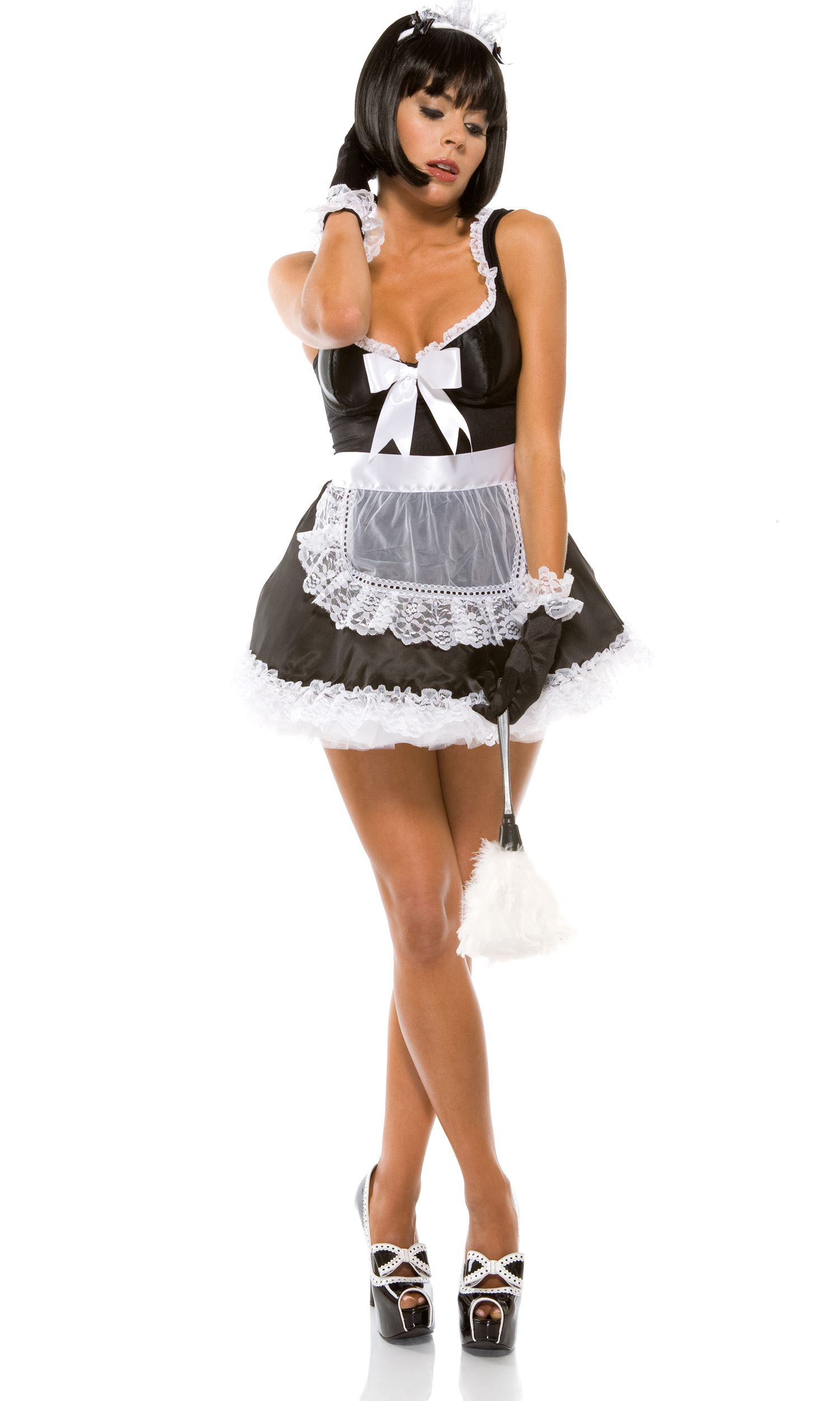 Awesome Adult Domesticated Delight French Maid Costume | $54.99 | The Costume Land