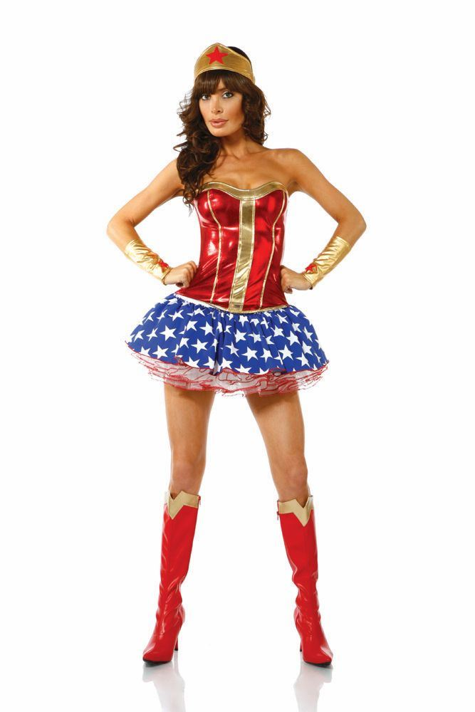 Adult Bam Sexy Women Superhero Costume | $72.99 | The ...