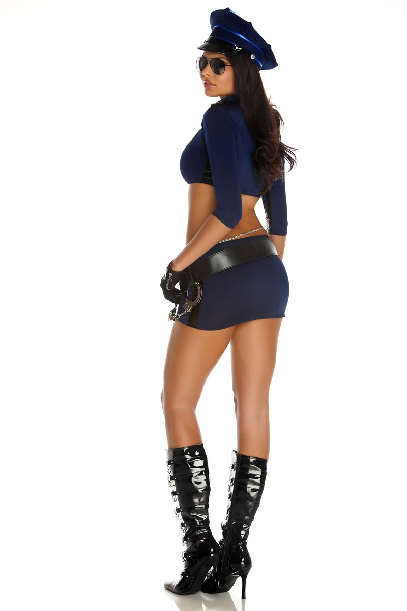 Can suggest Adult cop costume touching