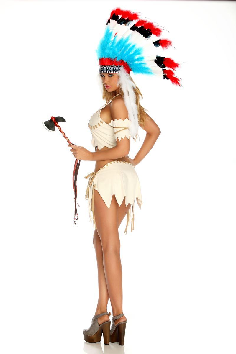 Tribal Tease Women Native American Halloween CostumeNative American Tribal Women