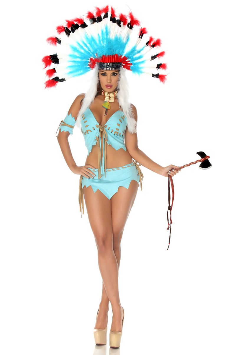 adult tomahawk hottie native american women costume 5699 the - Halloween Native American