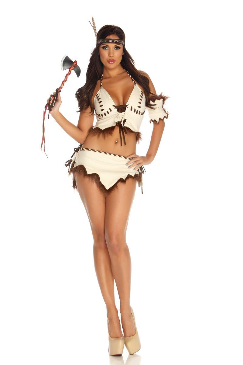 adult native desire american woman costume