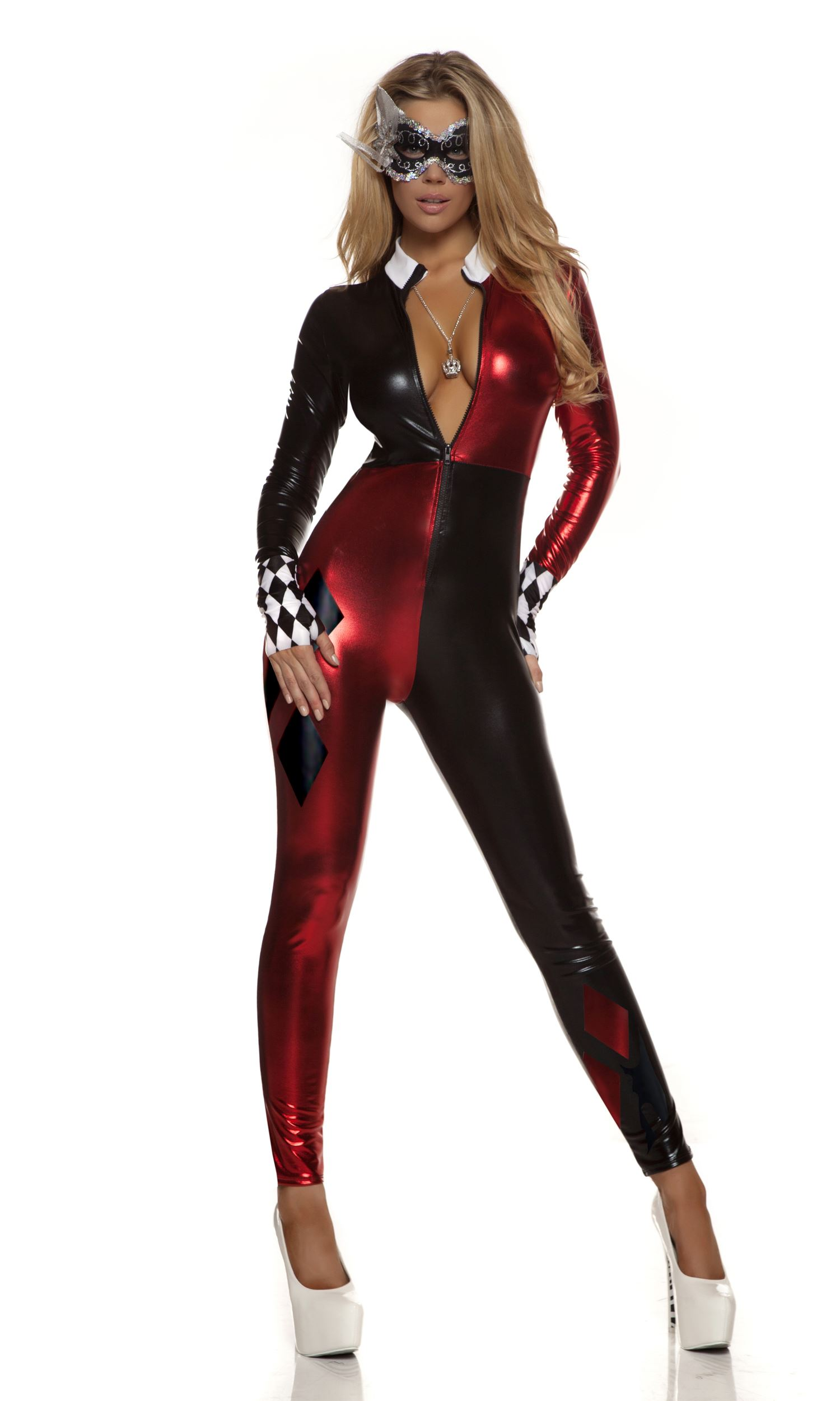 adult jester comic book woman costume 7399 the