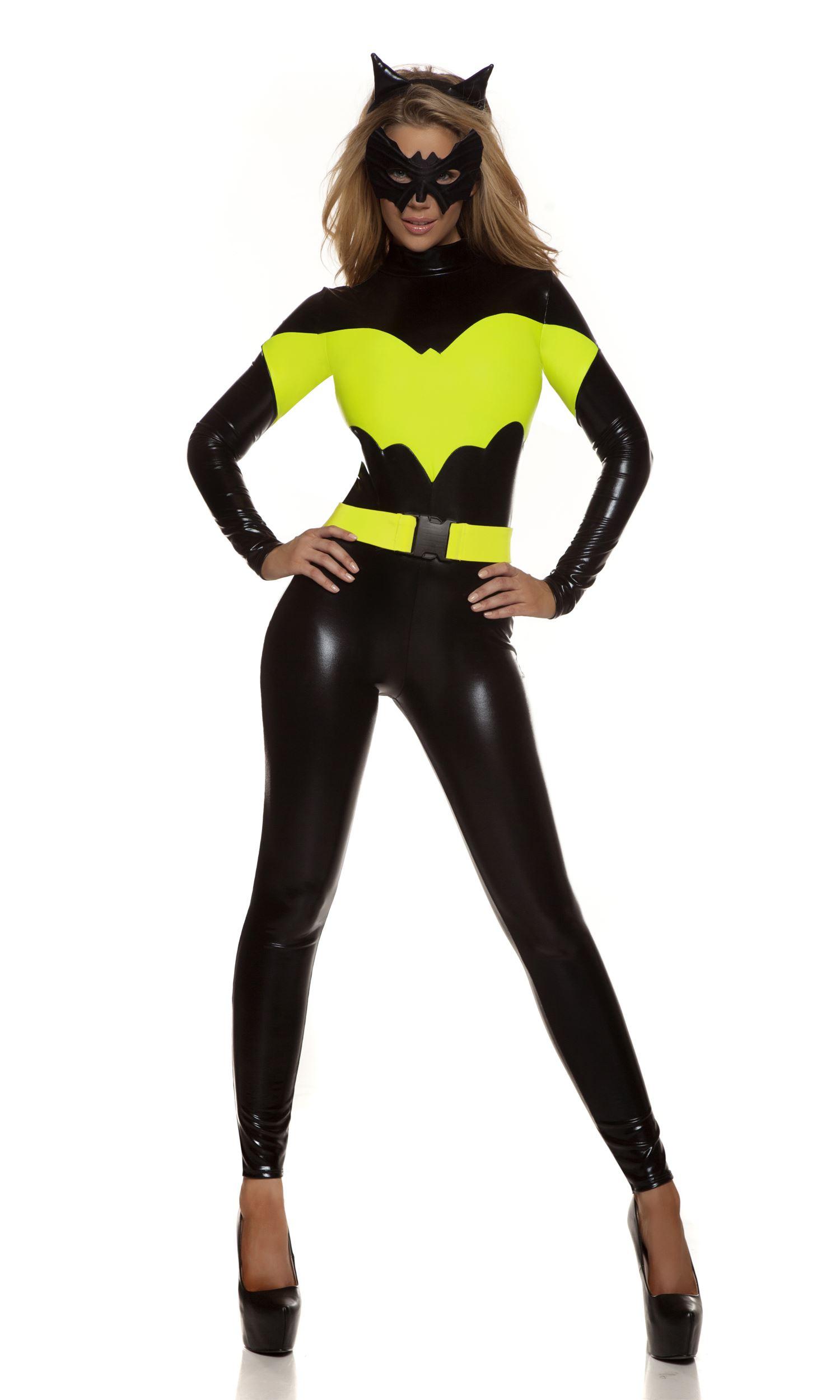 Adult Darque Nights Sexy Superhero Women Costume | $74.99 ...