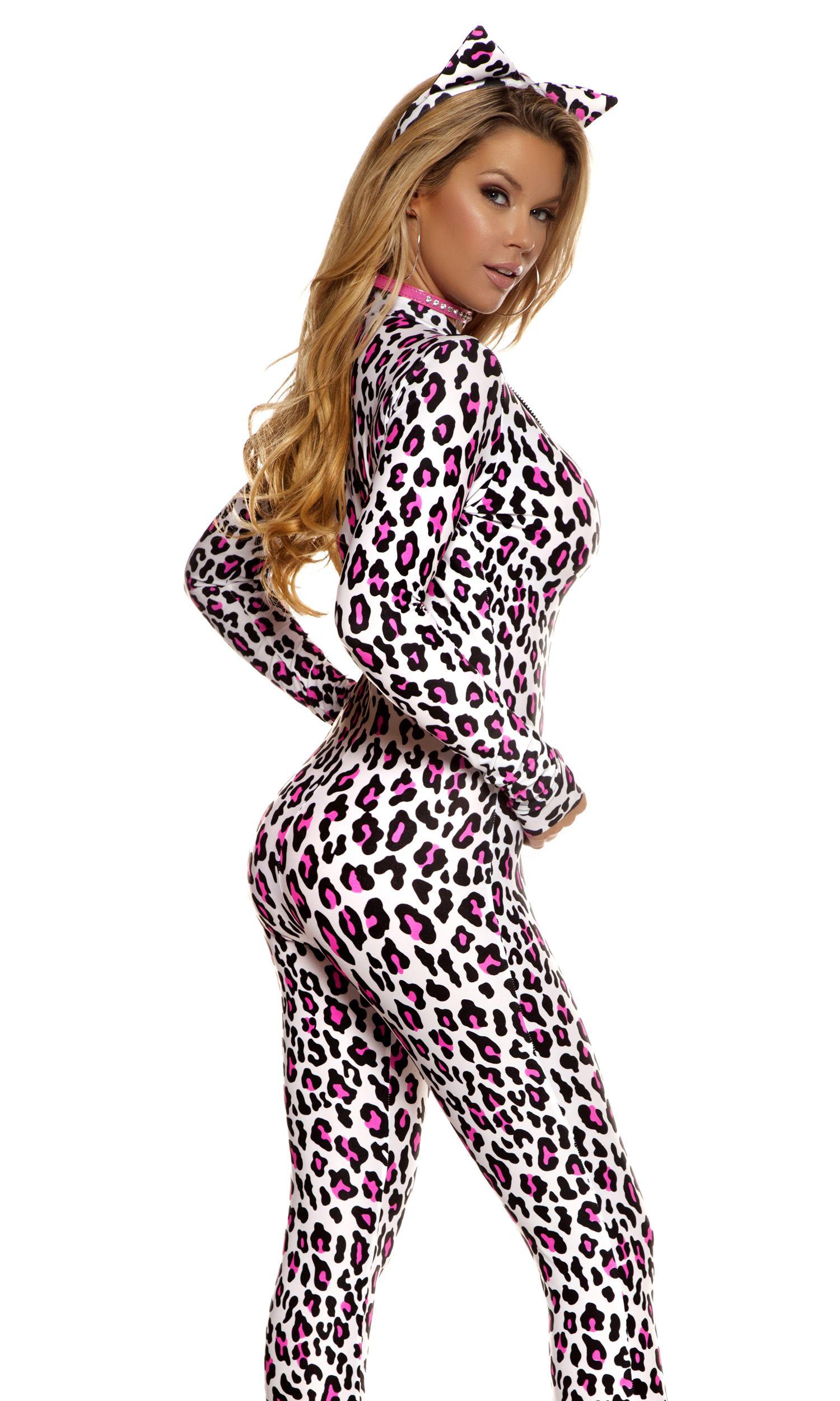 ... Adult Foxy Feline Women Sexy Cat Costume  sc 1 st  The Costume Land & Adult Foxy Feline Women Sexy Cat Costume | $59.99 | The Costume Land