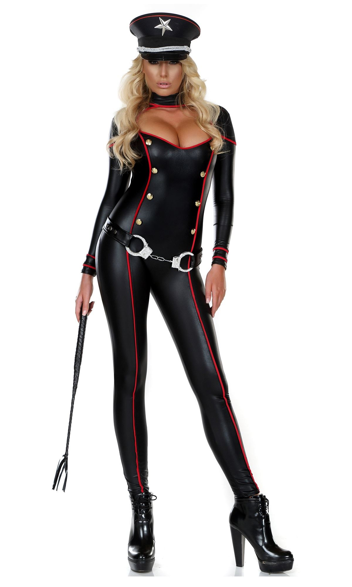 Adult Military Soldier Woman Catsuit Costume ...  sc 1 st  The Costume Land & Adult Military Soldier Woman Catsuit Costume | $67.99 | The Costume Land