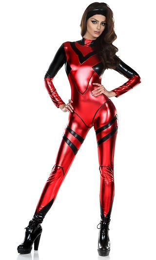 Adult Alluring Anime Woman Super Hero Costume 112 99 The